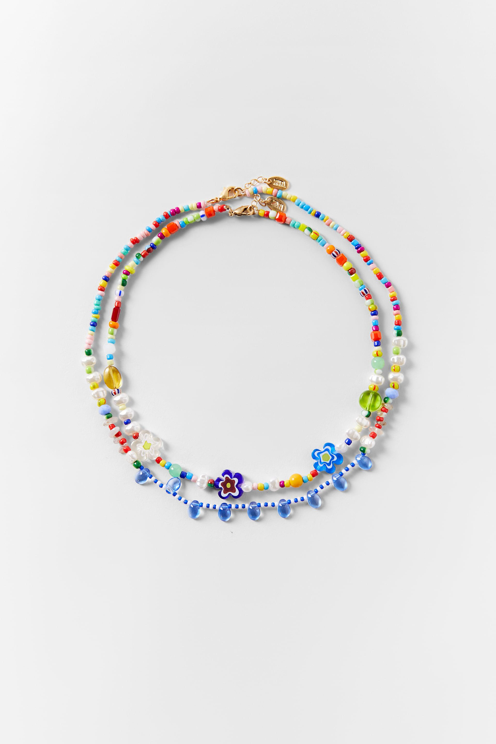PACK OF BEADED NECKLACES