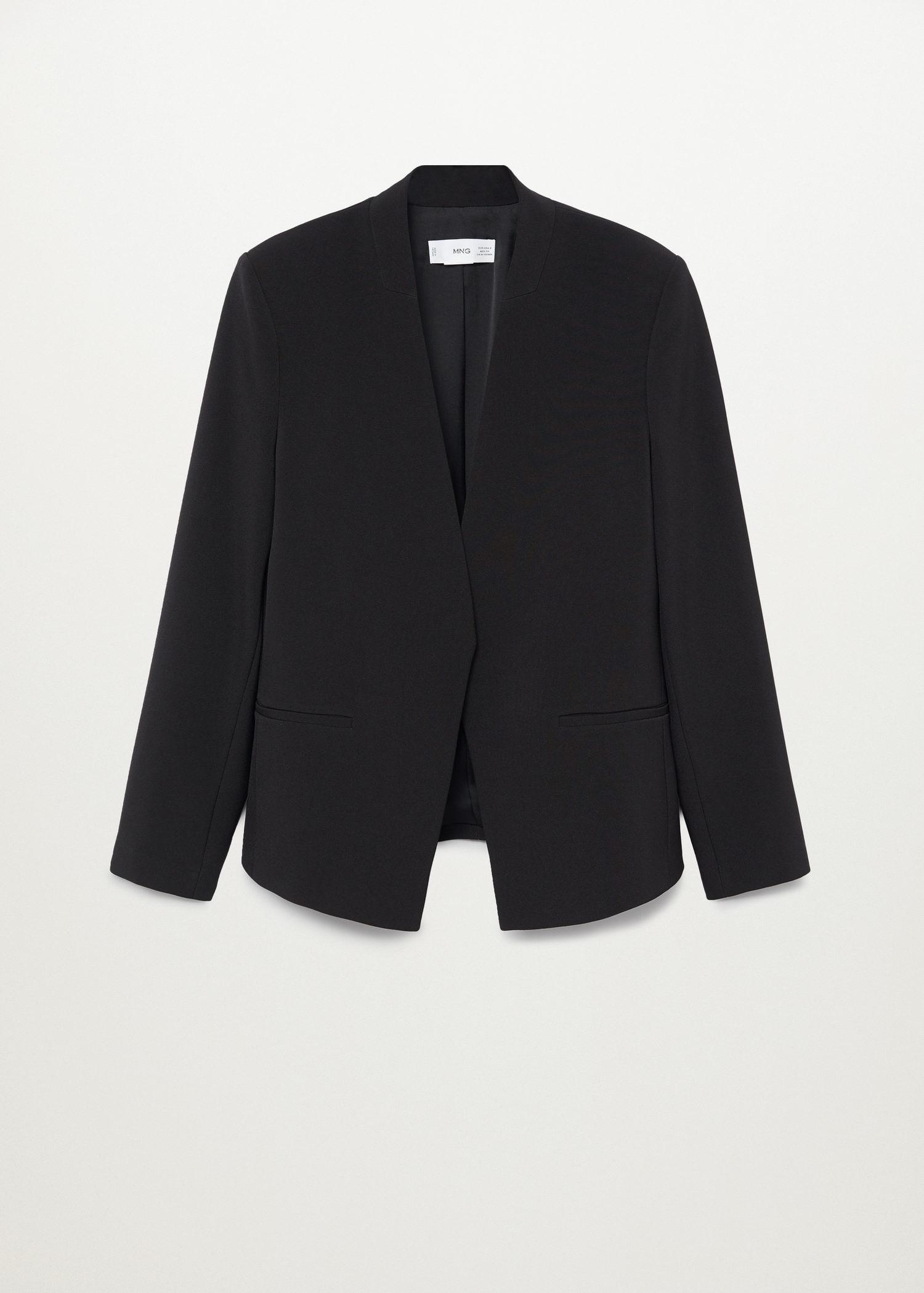 Crepe fitted blazer 7