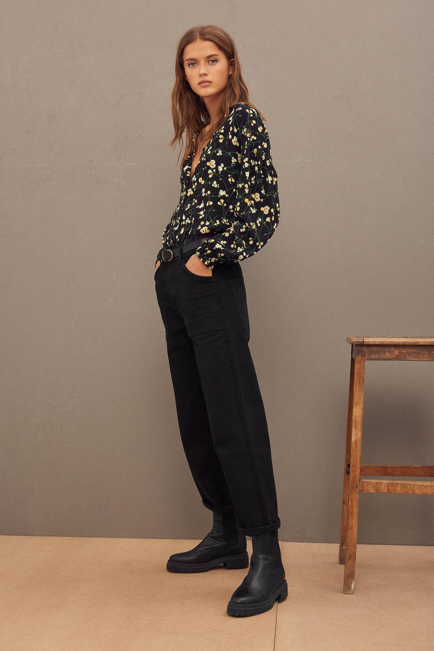 hanna.CROPPED JEANS