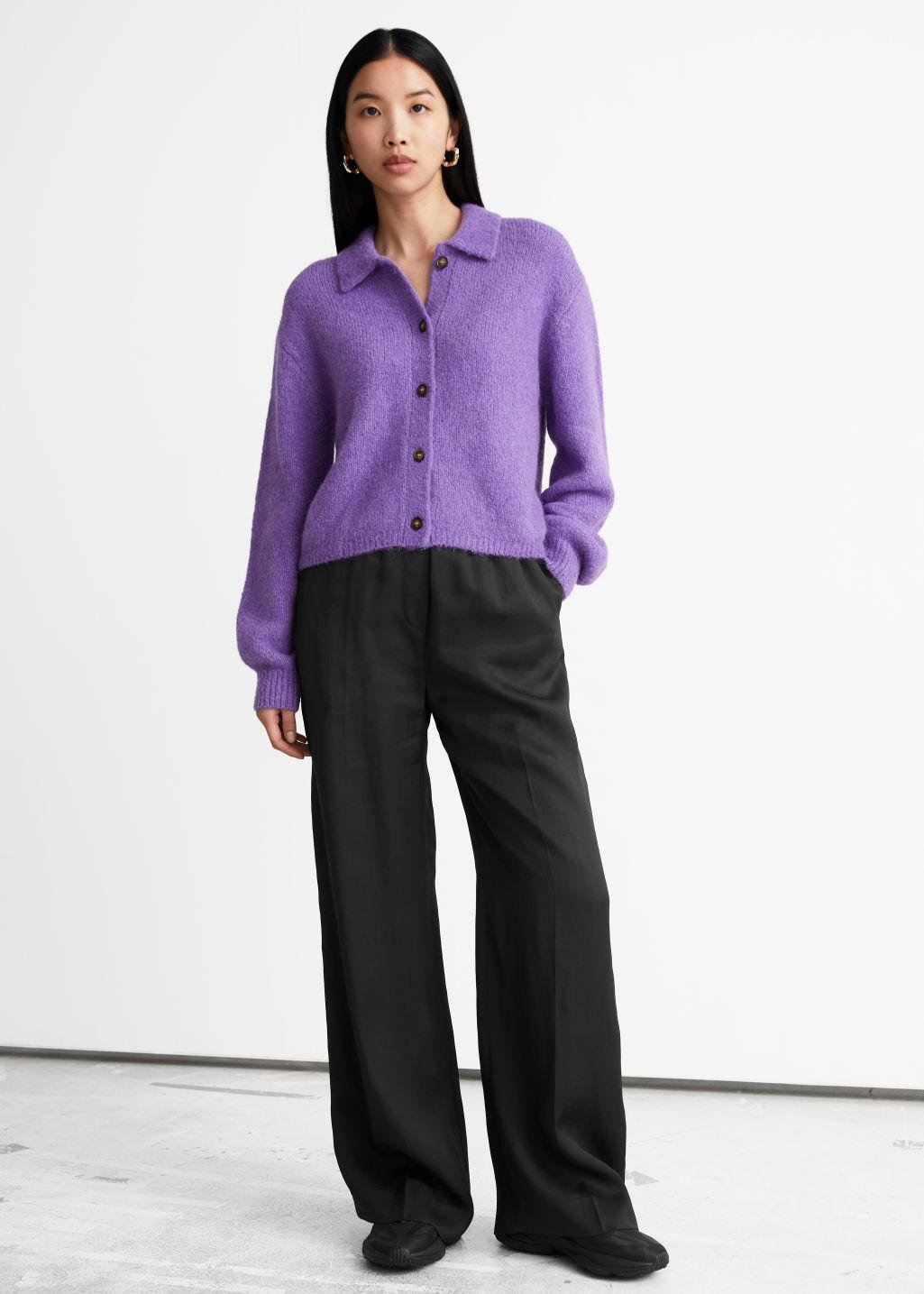 Wide Flared Trousers