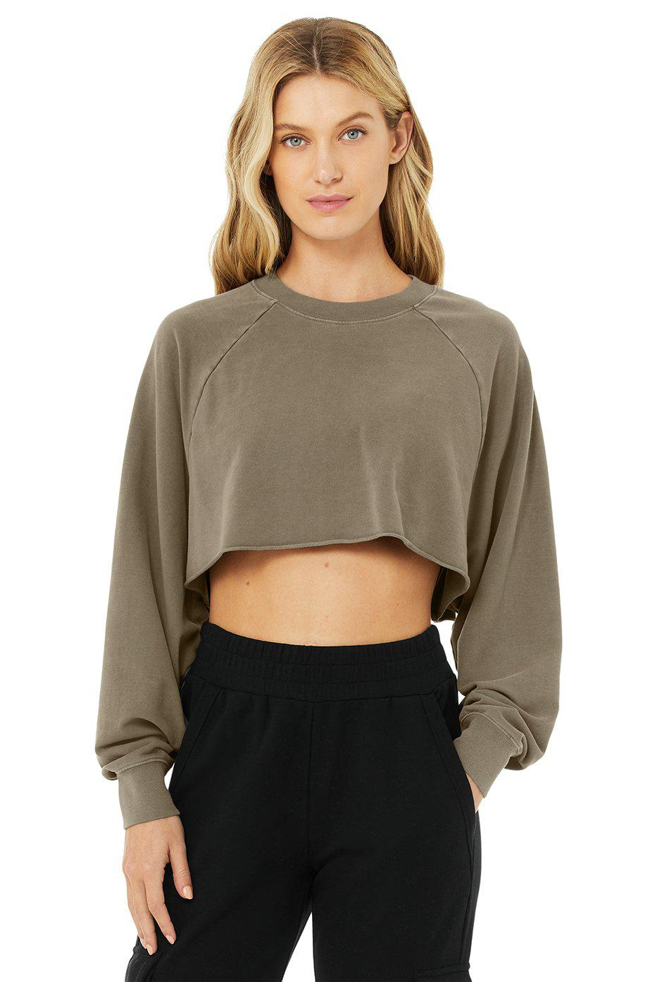 Double Take Pullover - Olive Branch