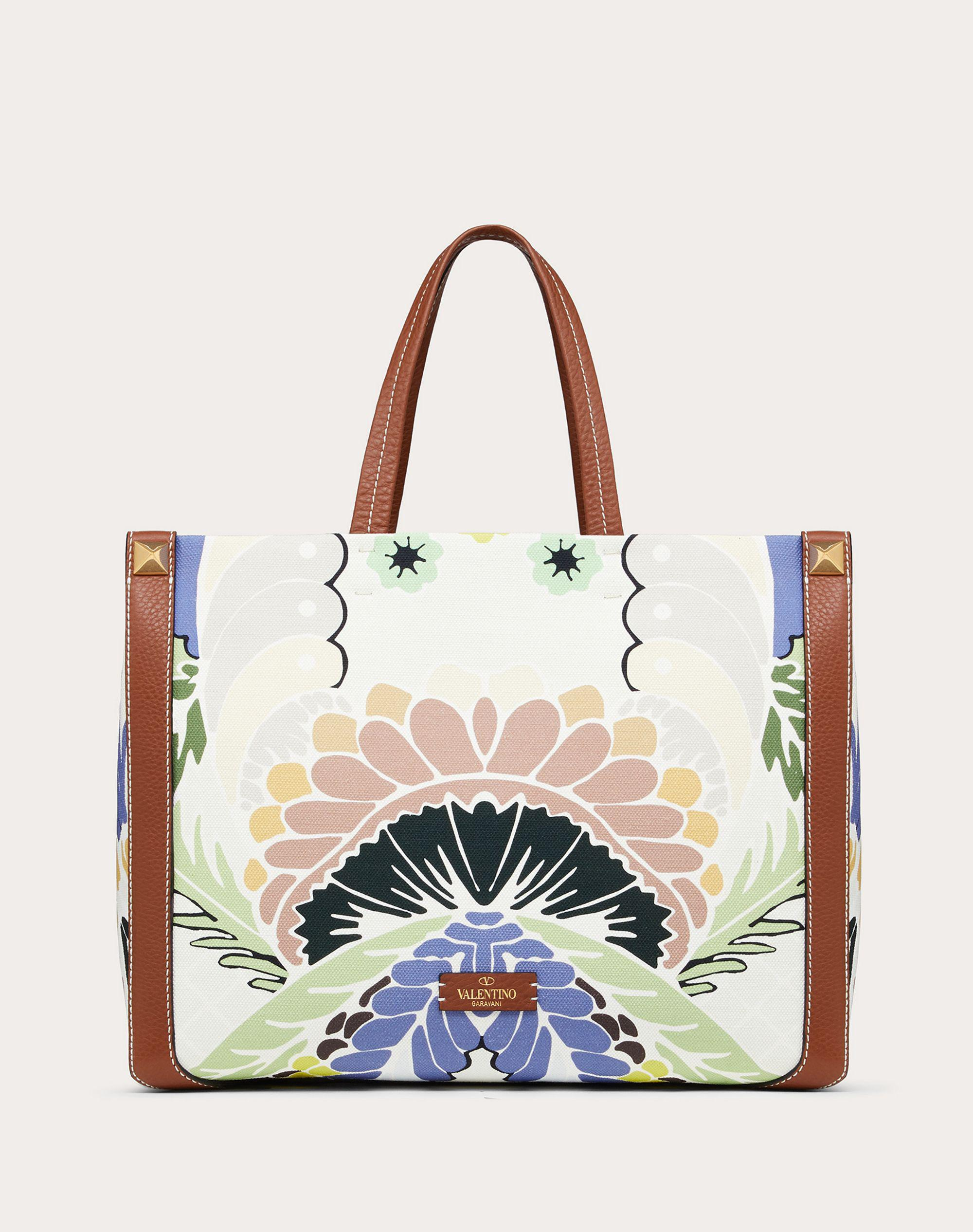 Small Canvas Tote Bag with Print 2