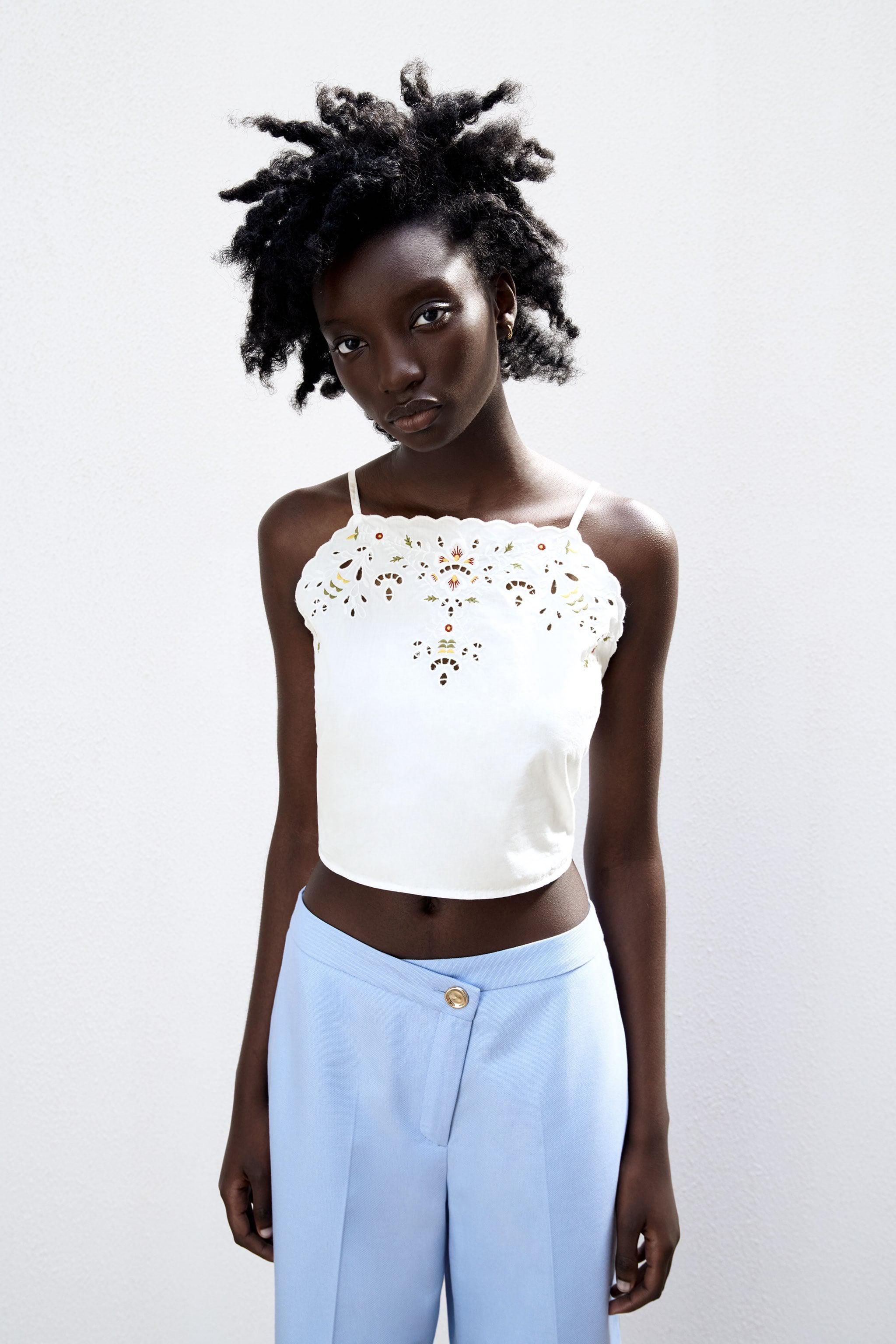 EMBROIDERED CAMISOLE 3