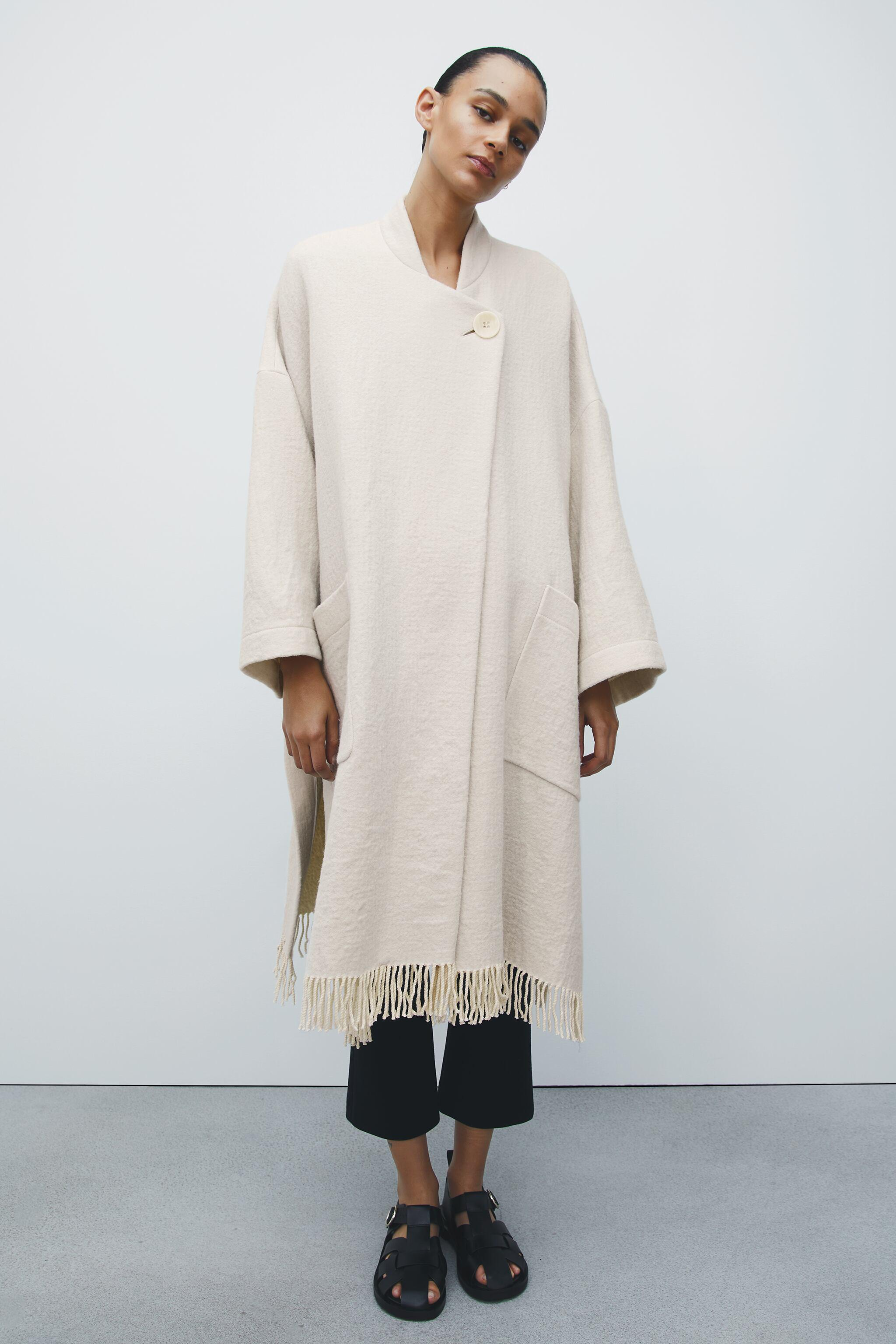 WOOL BLEND CAPE LIMITED EDITION