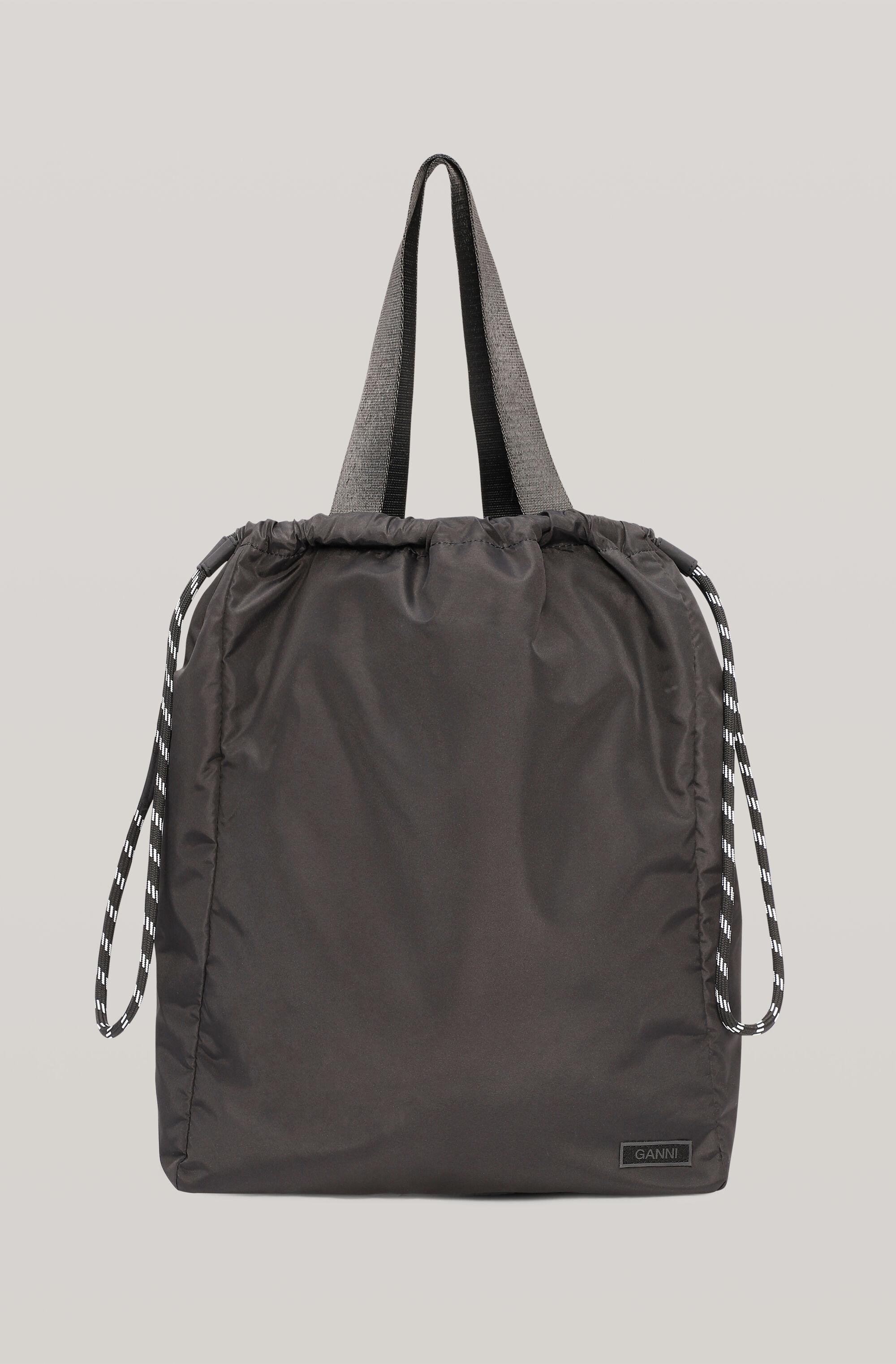 Recycled Tech Fabric Bags Drawstring Tote