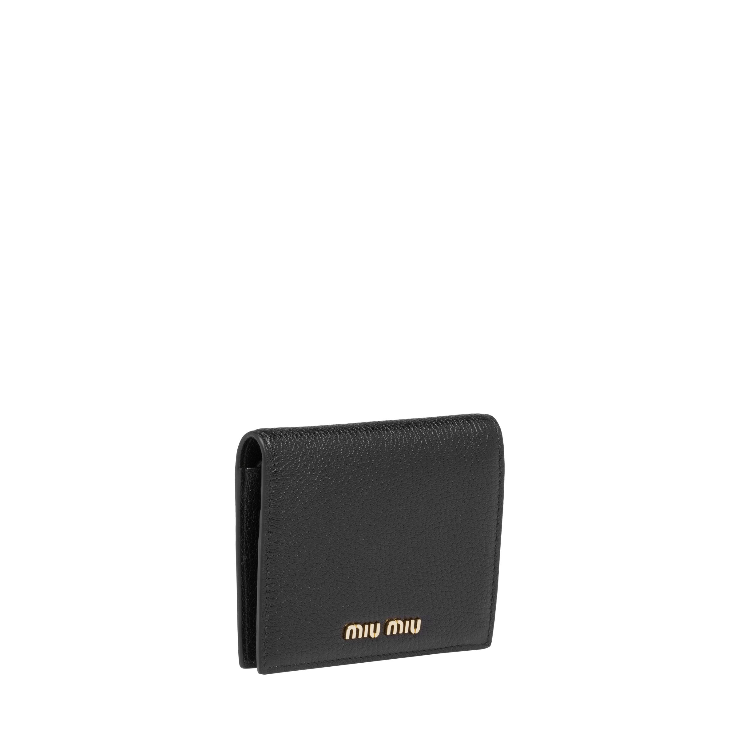 Madras Colour Leather Wallet Women Black/fiery Red 2