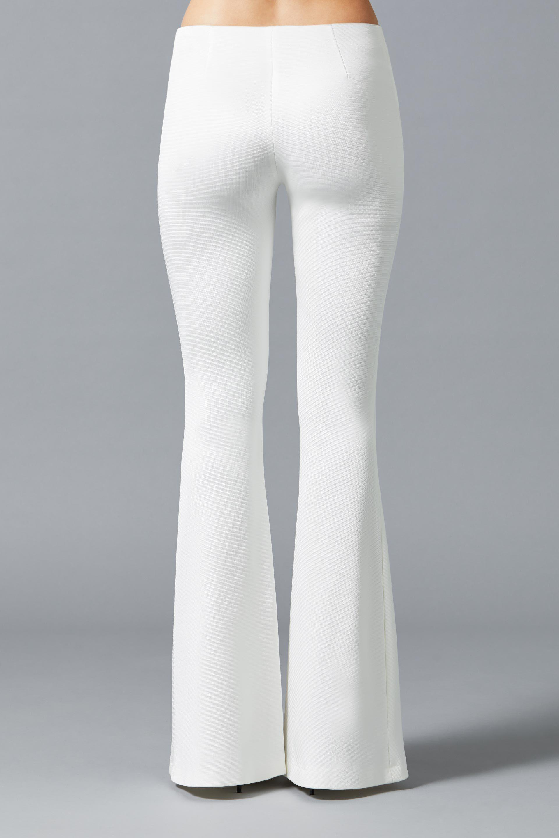 Jersey Flared Bridal Trousers 5