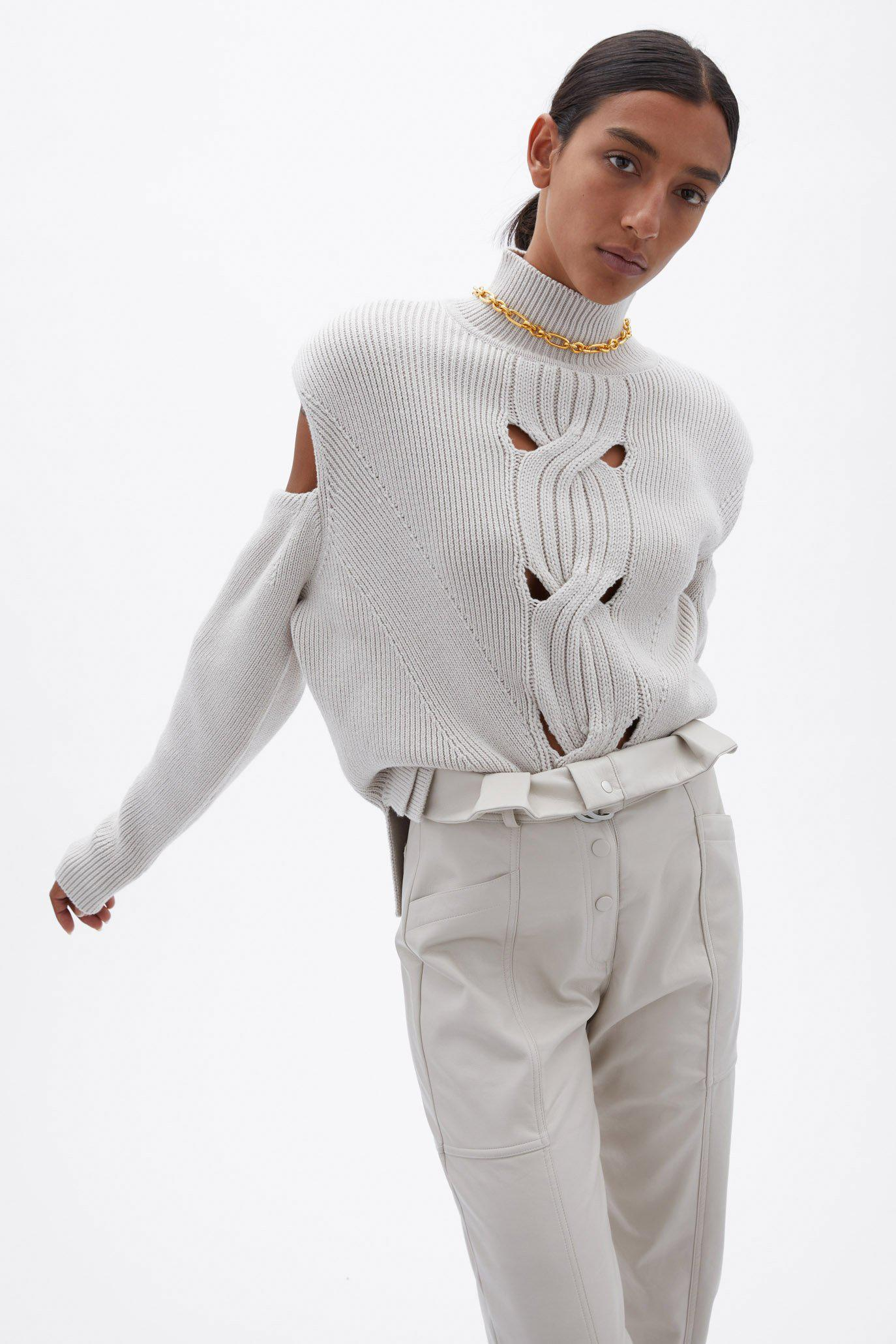 Porter Open Cable Pullover