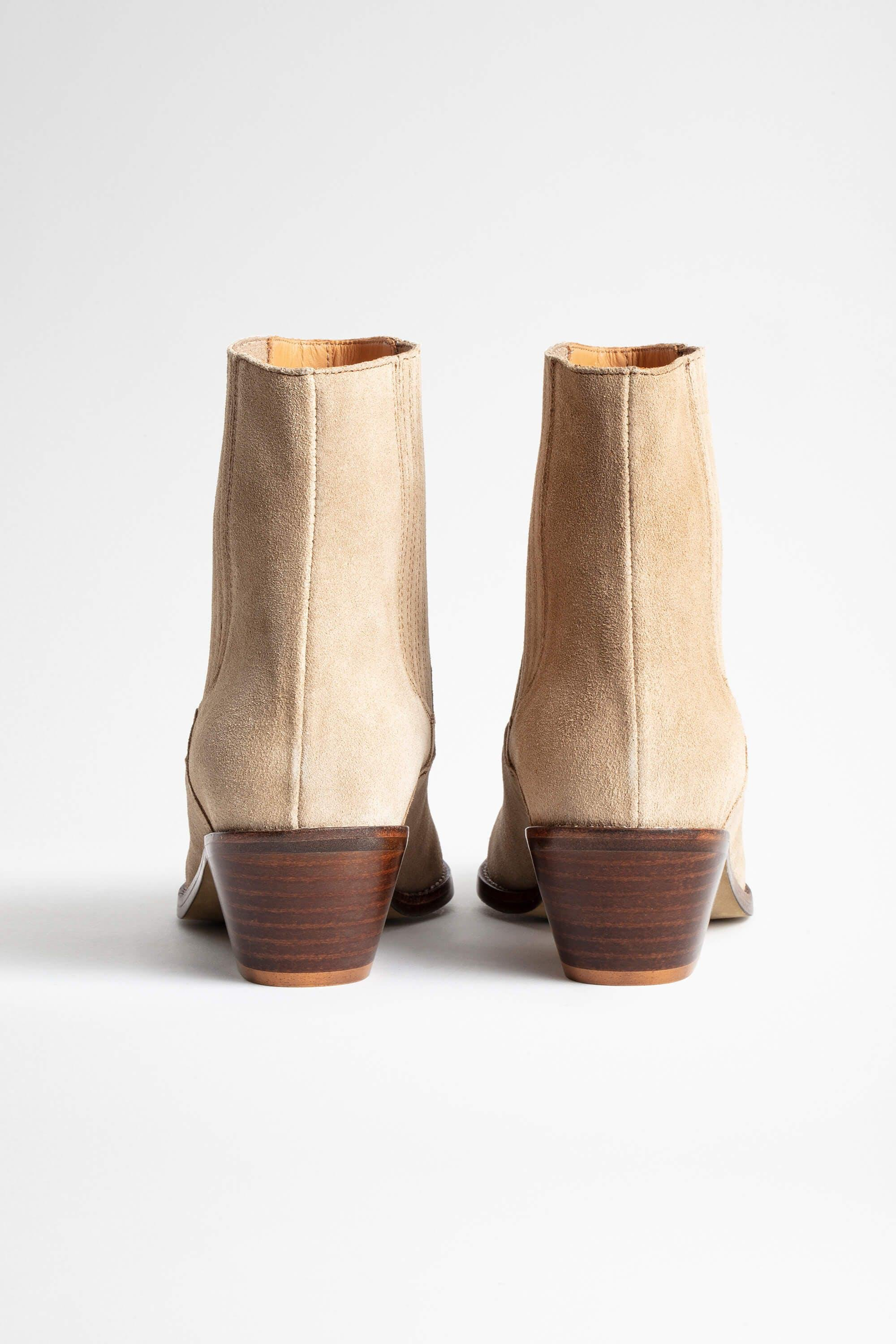 Tyler Suede Ankle Boots 4