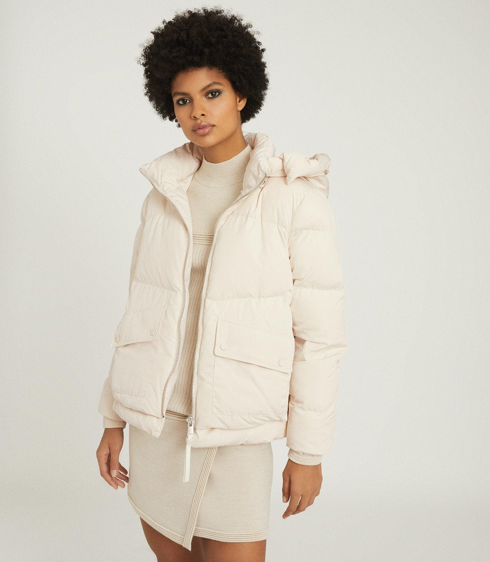 PAIGE - PUFFER JACKET WITH REMOVABLE HOOD 1