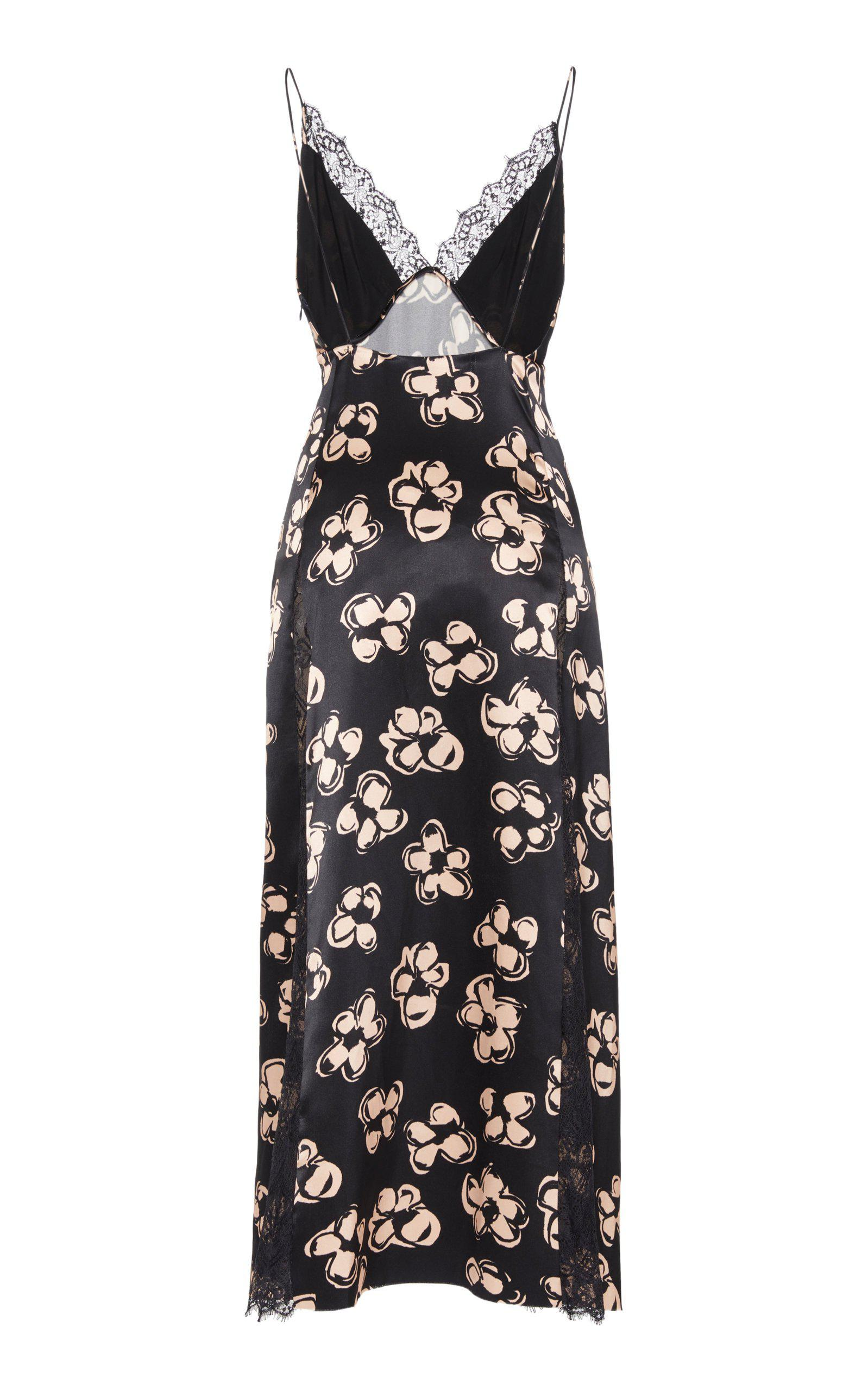 Slip Dress with Lace Inlay 2