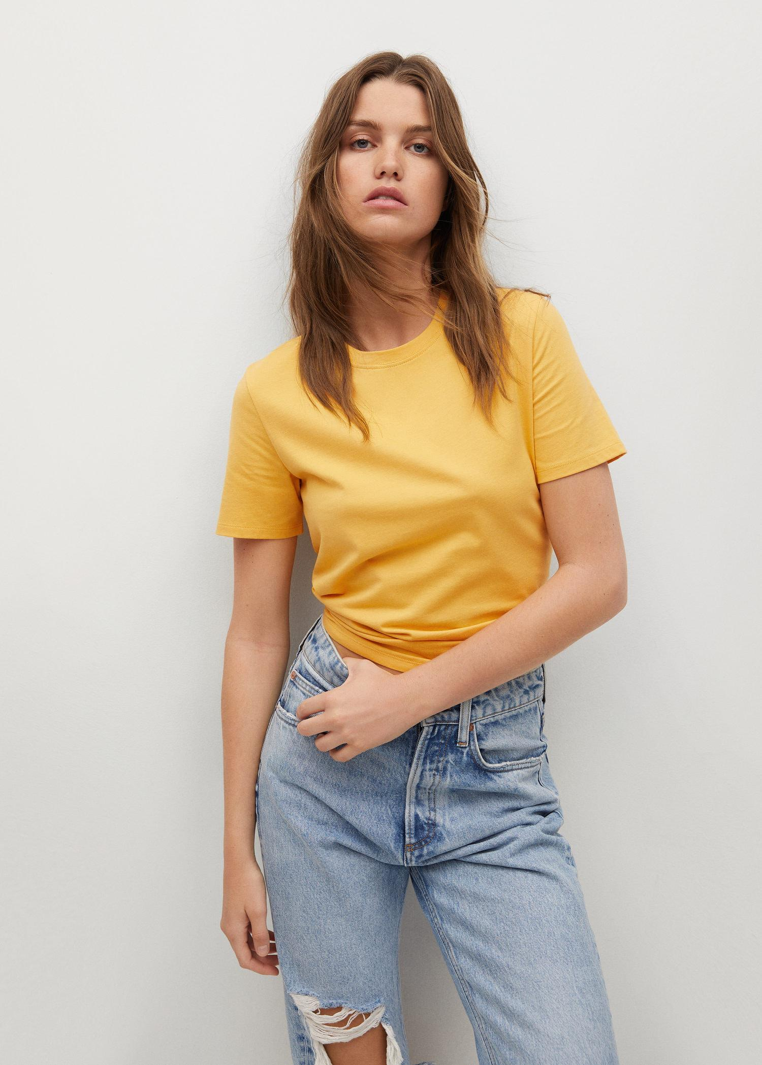 100% recycled cotton t-shirt
