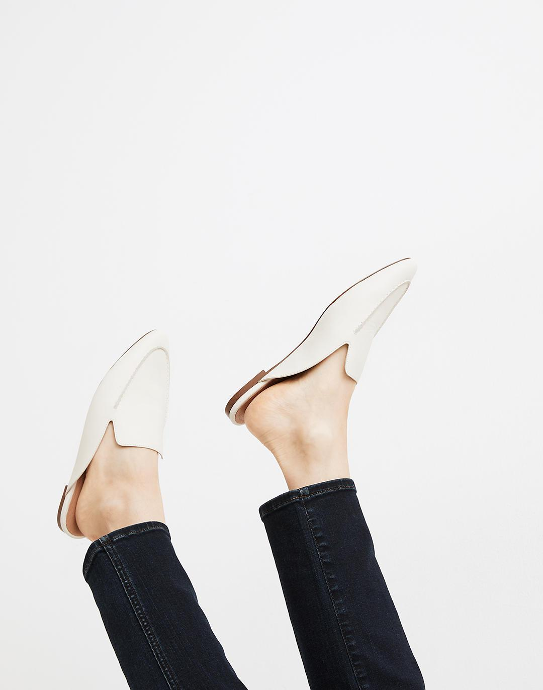 The Frances Skimmer Mule in Leather 3