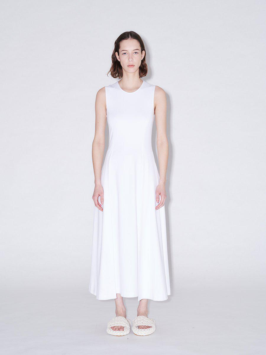 Fold Panel Fitted Dress
