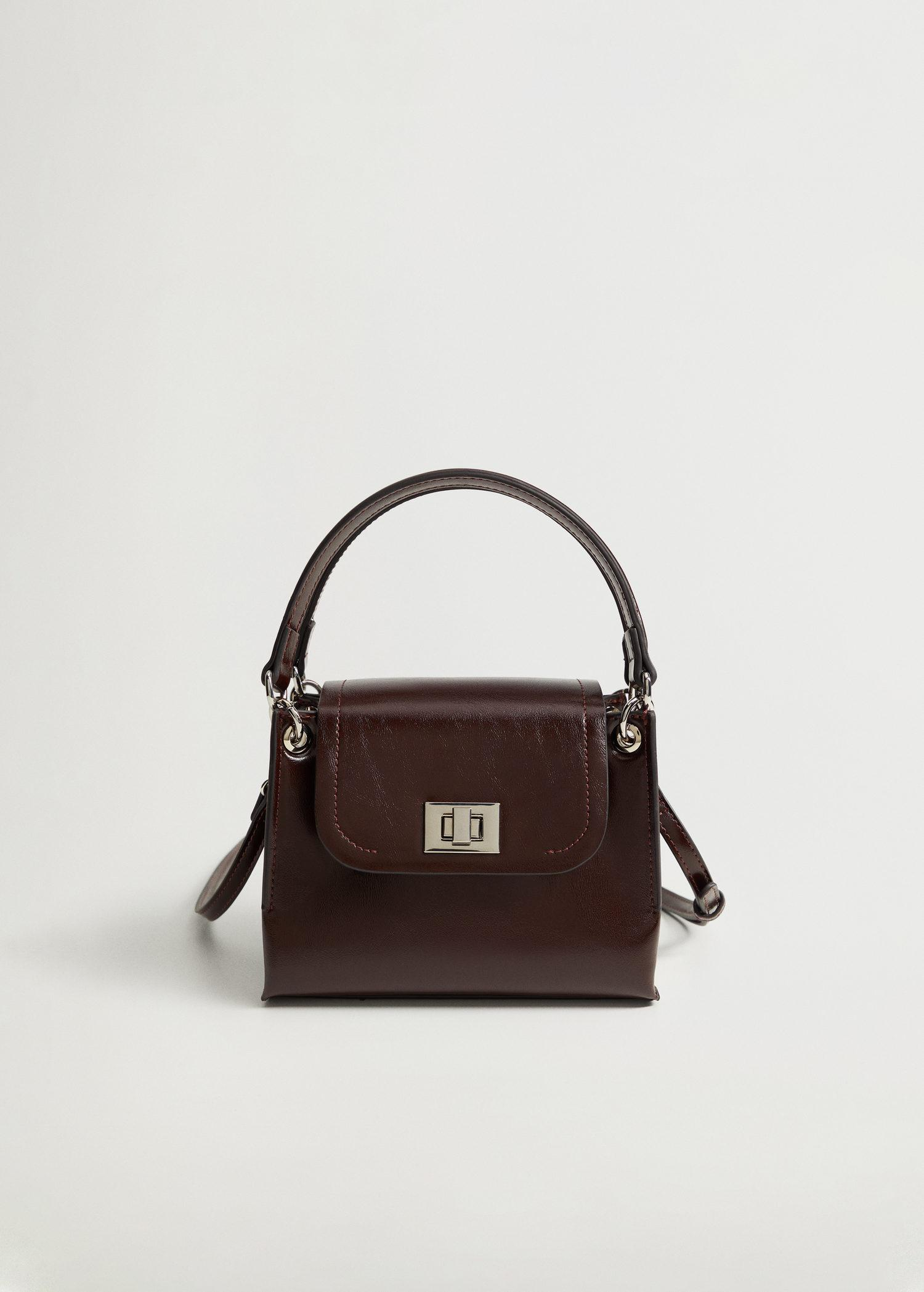 Double strap bag with flap 0