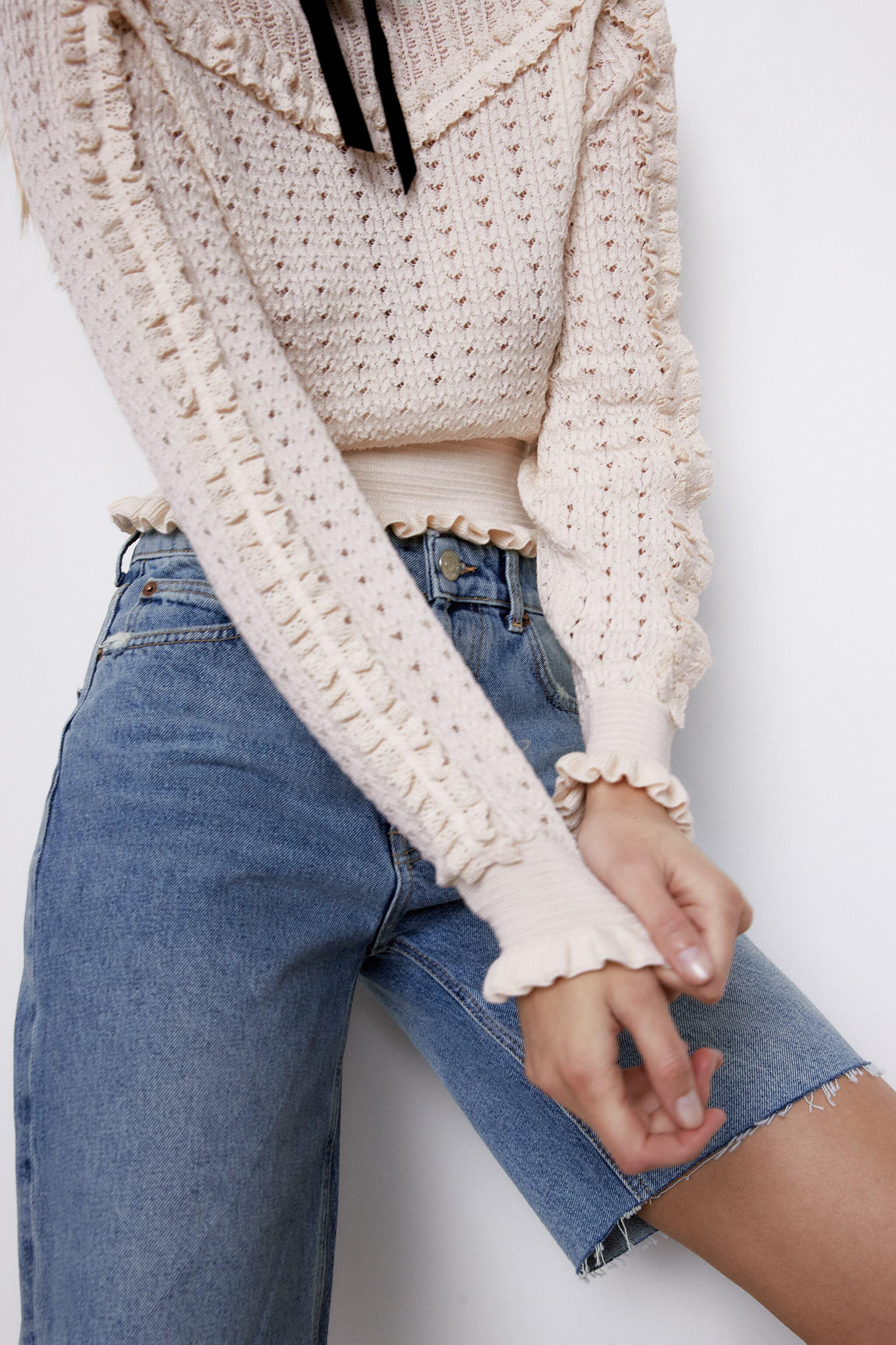 TIED KNIT SWEATER 3