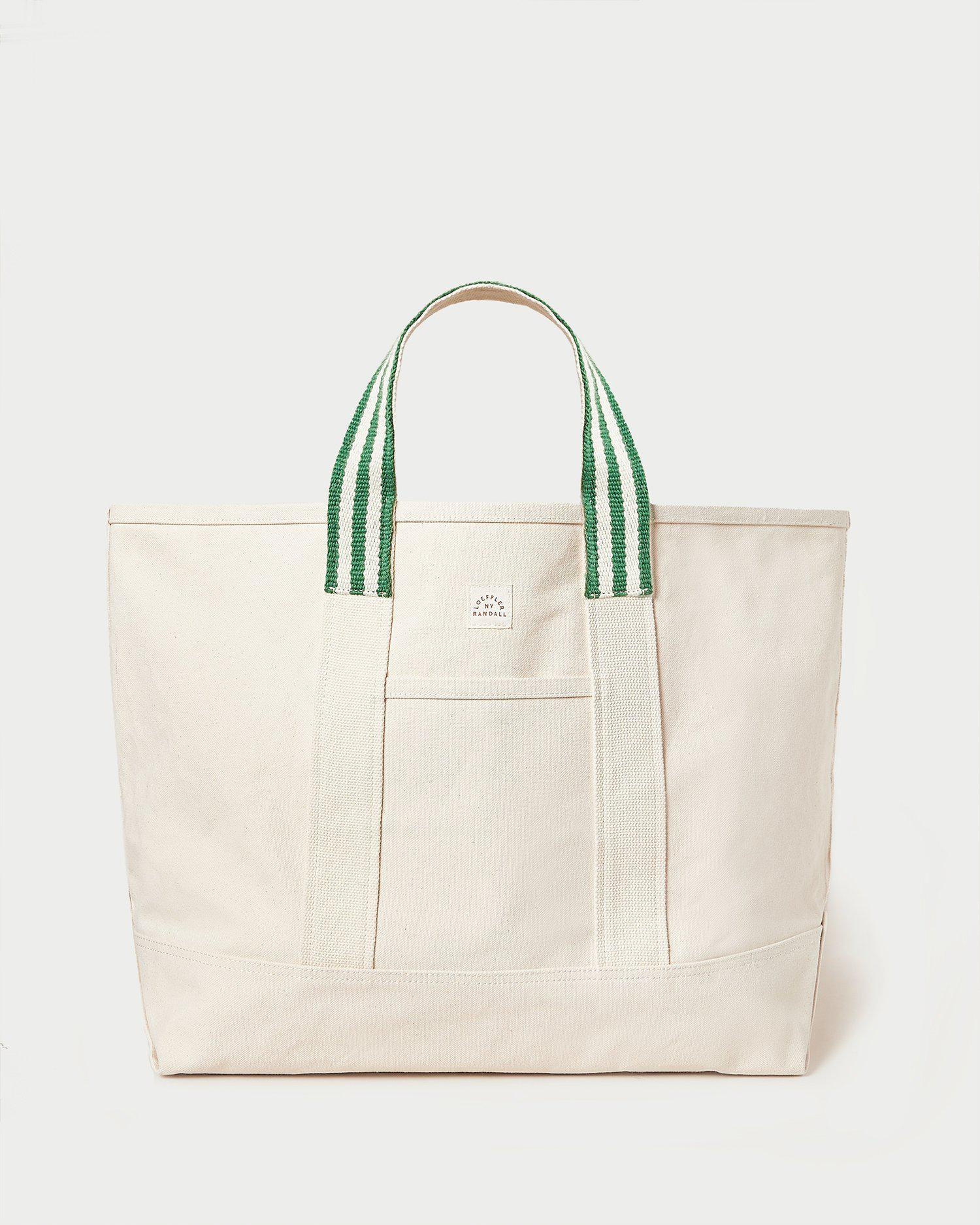 Bodie Green Oversized Open Tote
