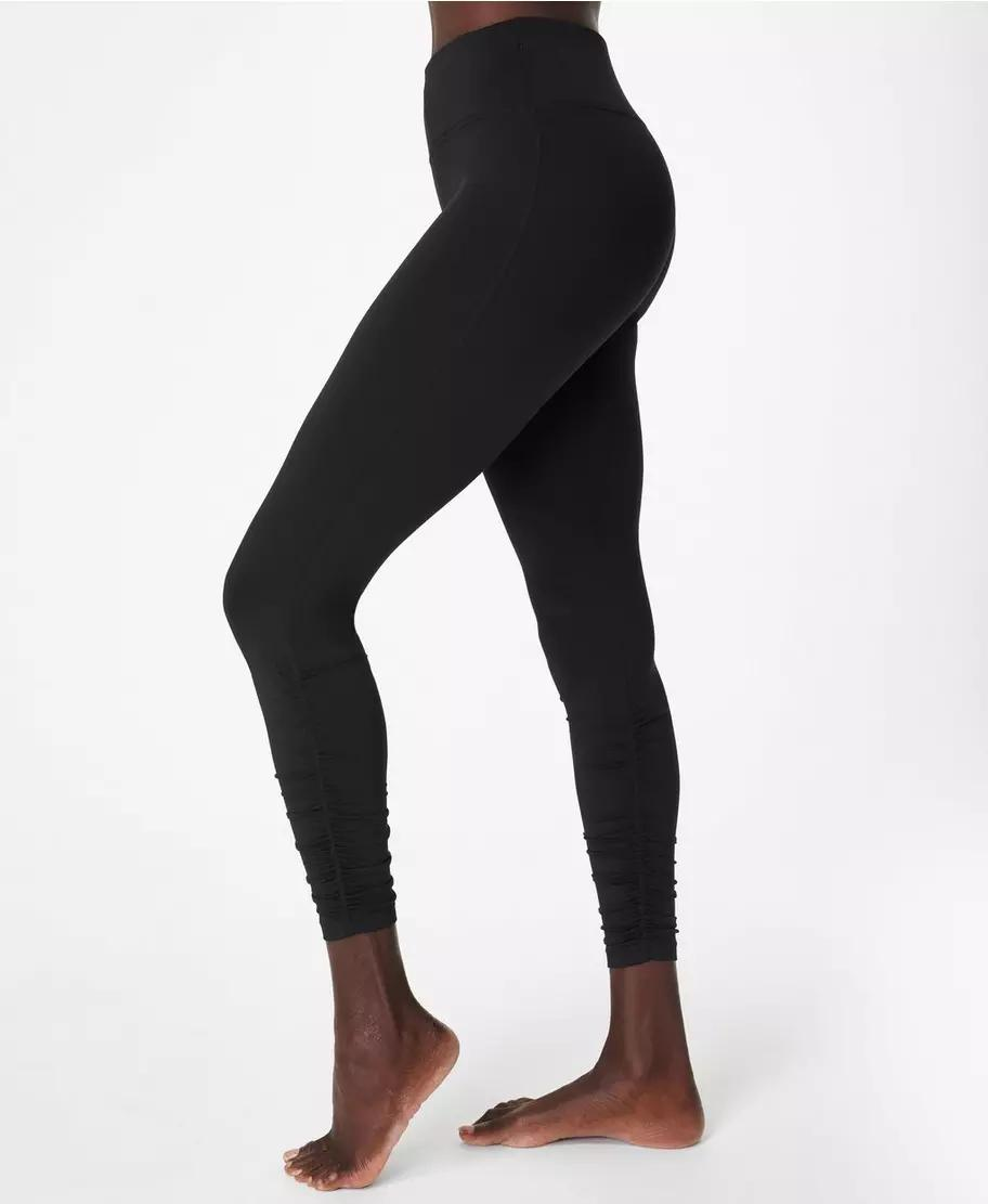 All Day Ruched Hem 7/8 Workout Leggings