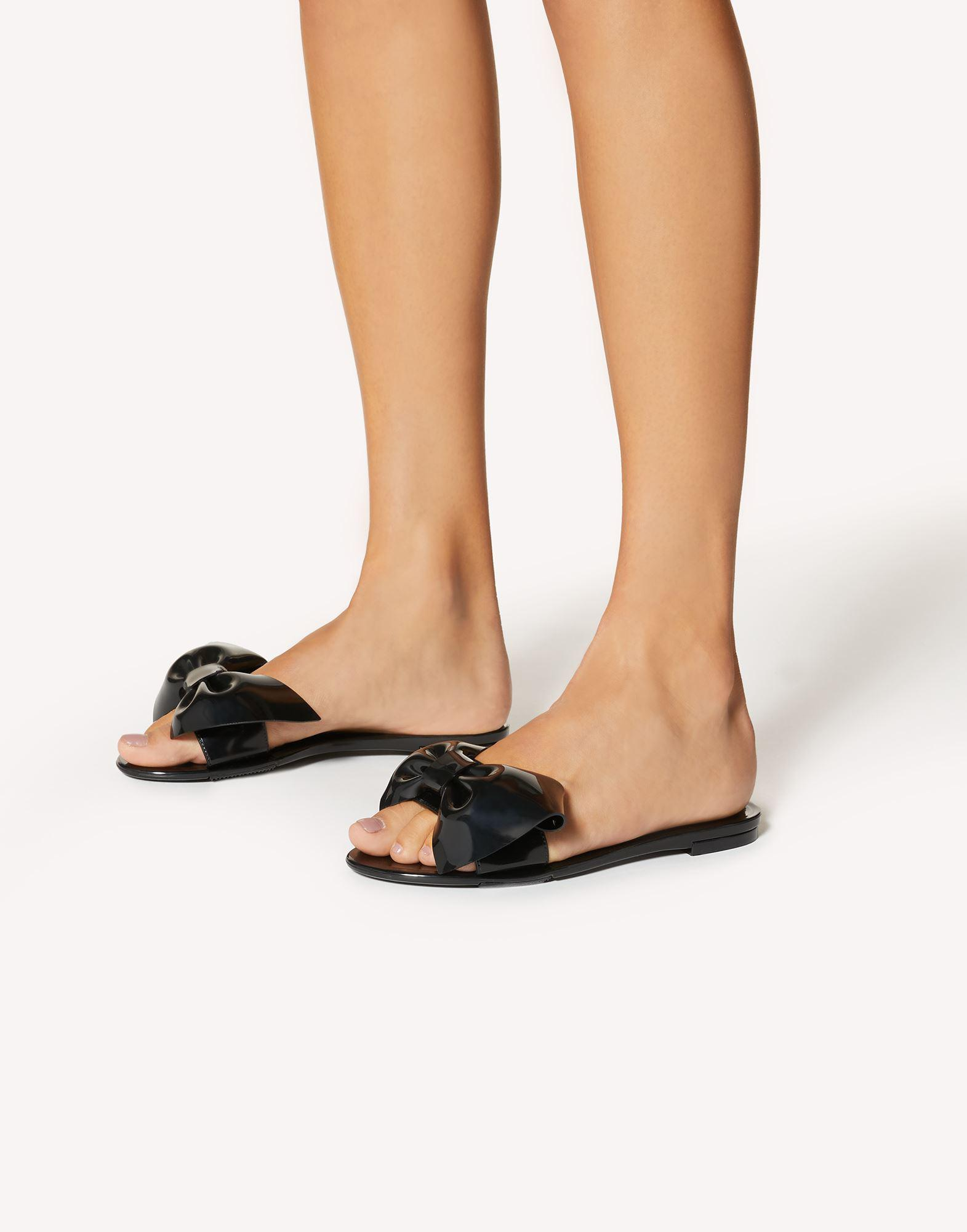RED JELLY RUBBER SANDAL 5