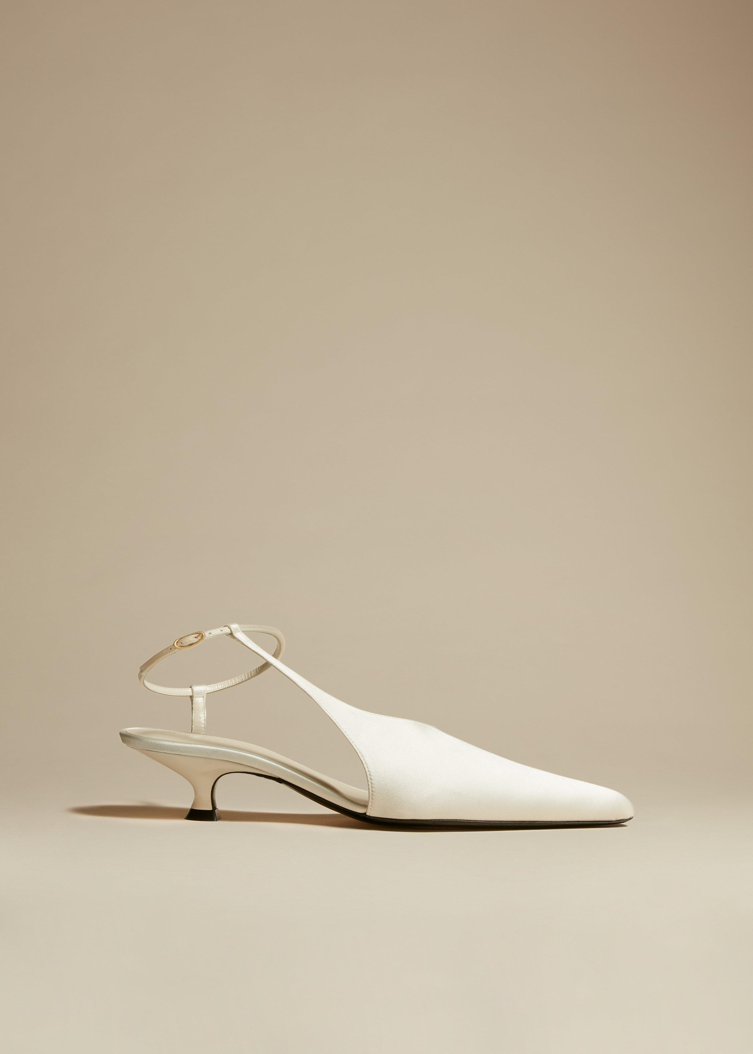 The Seville Pump in Ivory