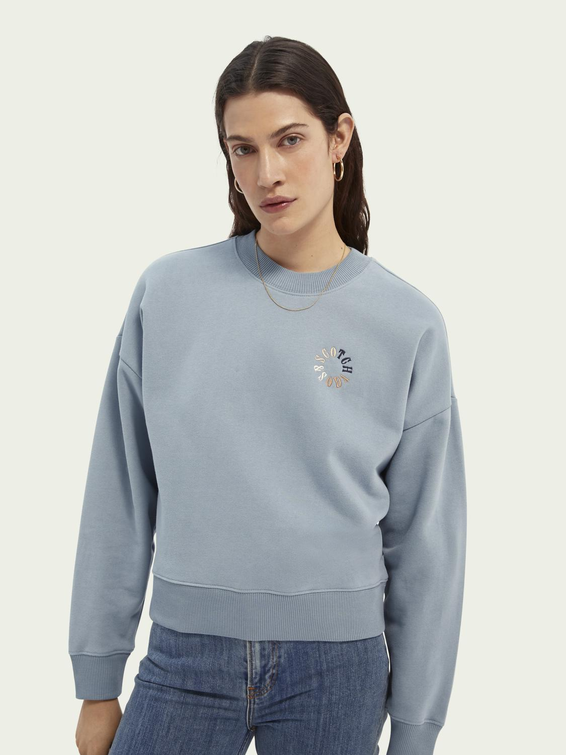 Relaxed-fit organic cotton sweater
