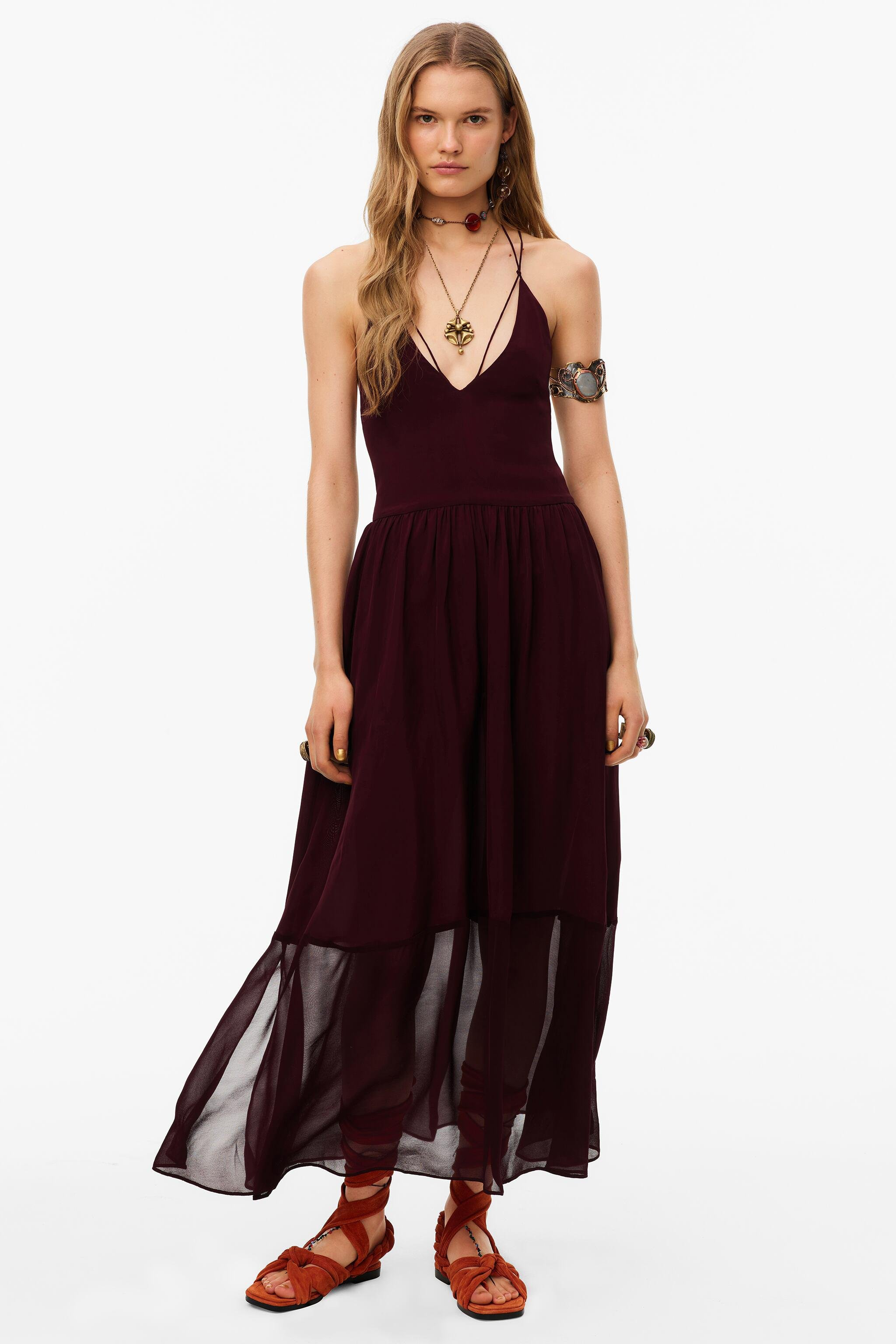 LIMITED EDITION STRAPPY DRESS