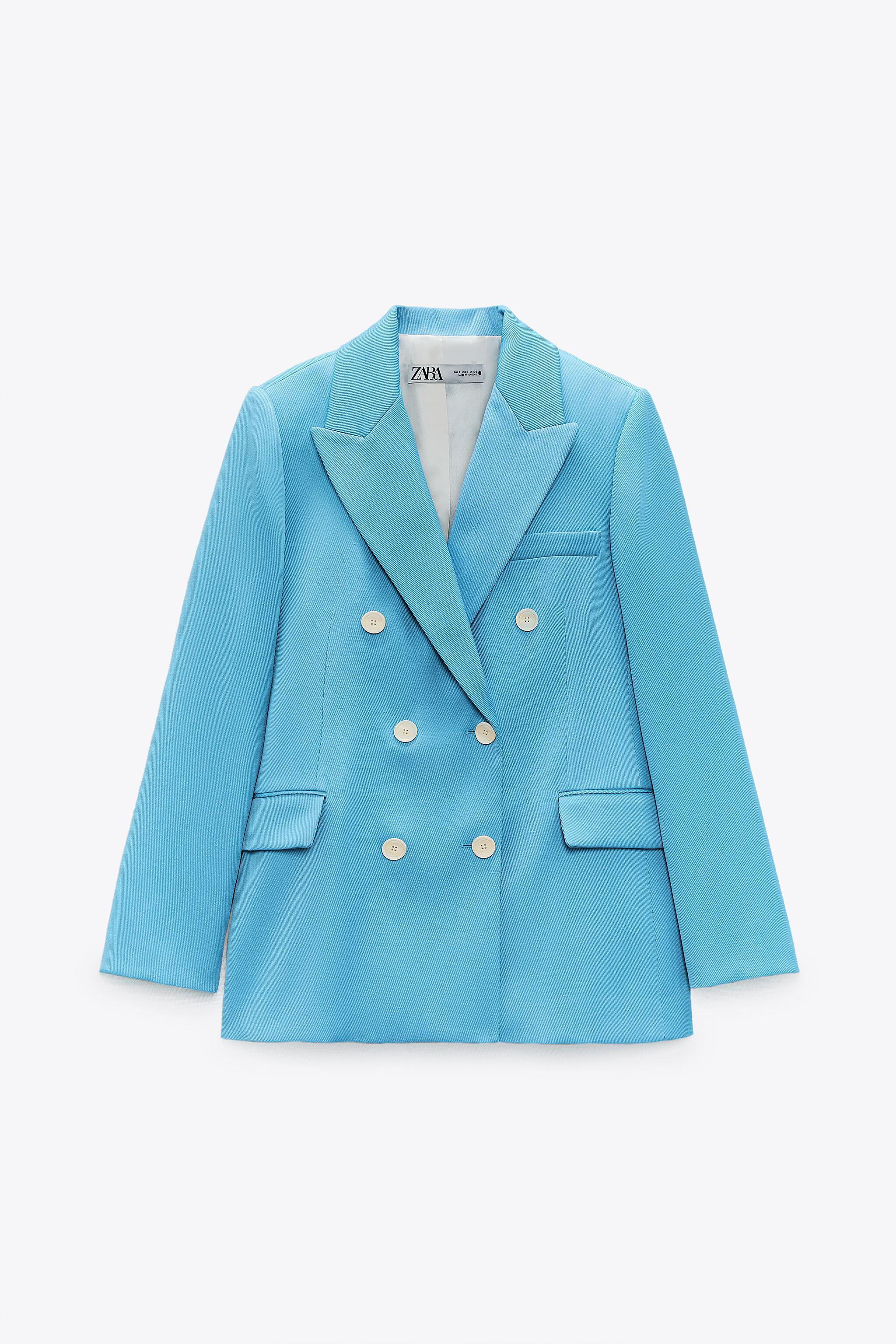 DOUBLE BREASTED BLAZER WITH POCKETS 2