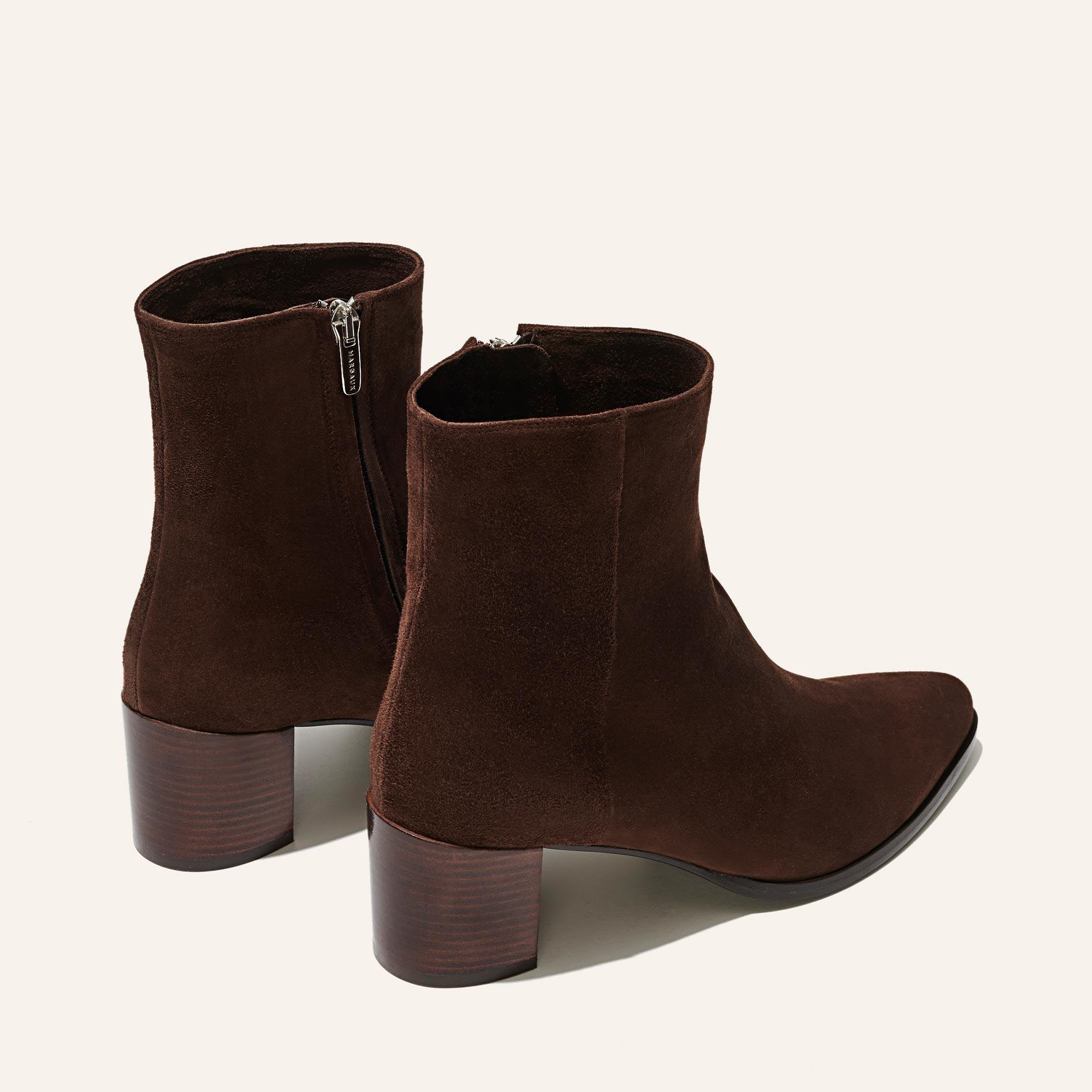 The Downtown Boot - Chocolate Suede 3