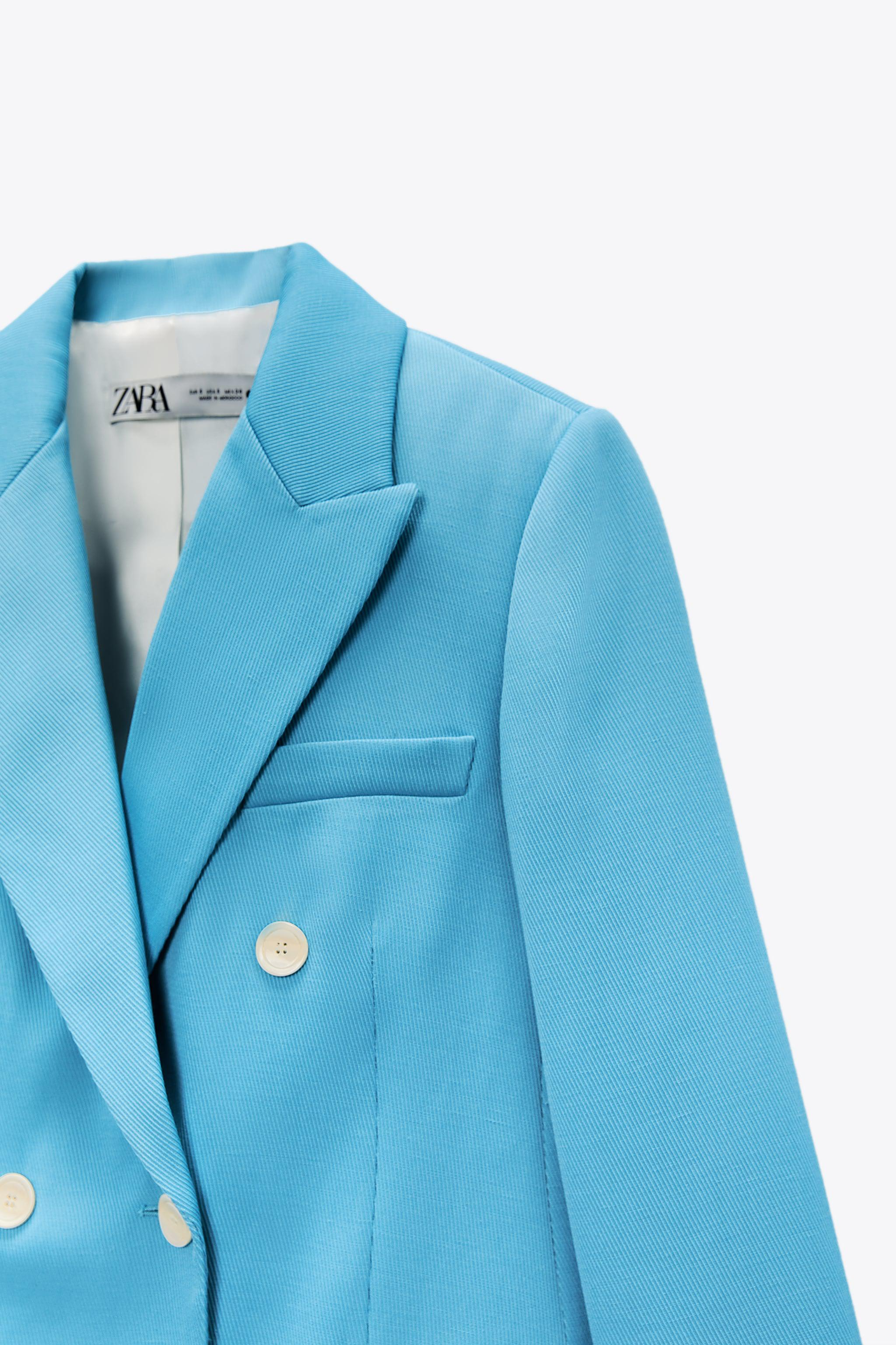 DOUBLE BREASTED BLAZER WITH POCKETS 4