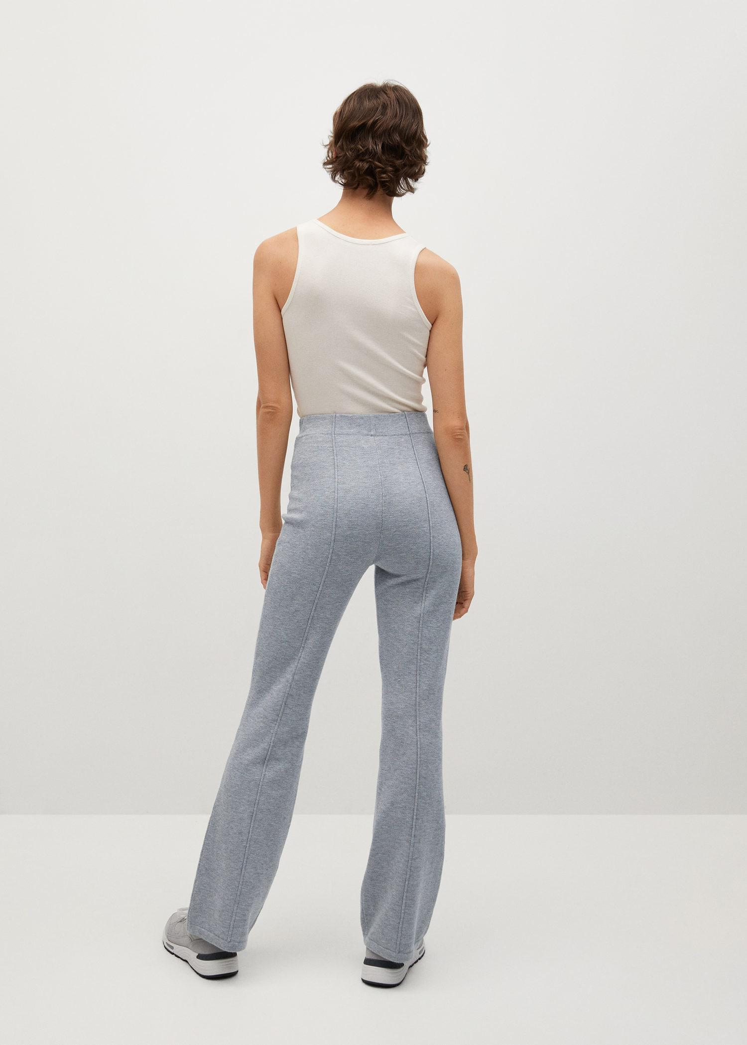 Flared knitted pants 2