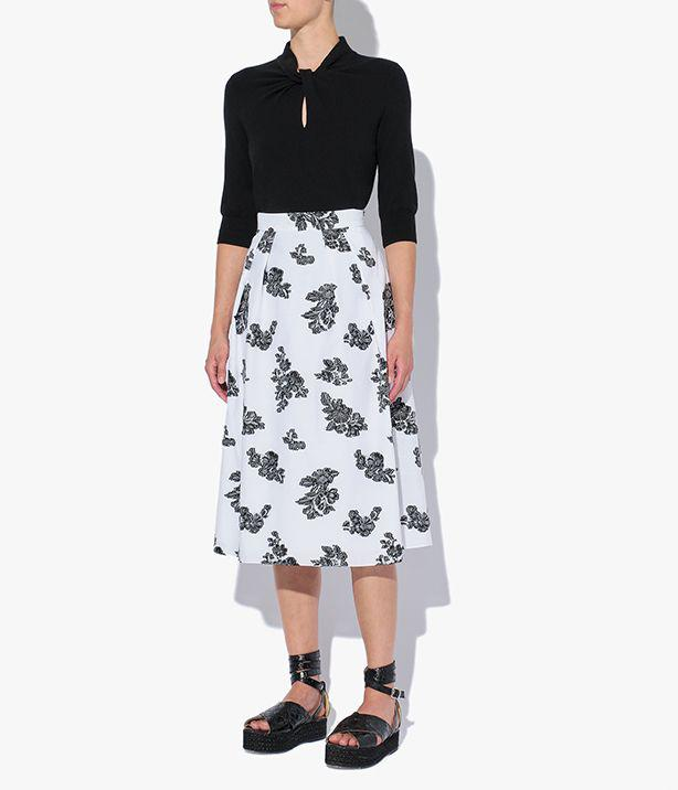Reed Skirt Cotton Fil Coupe