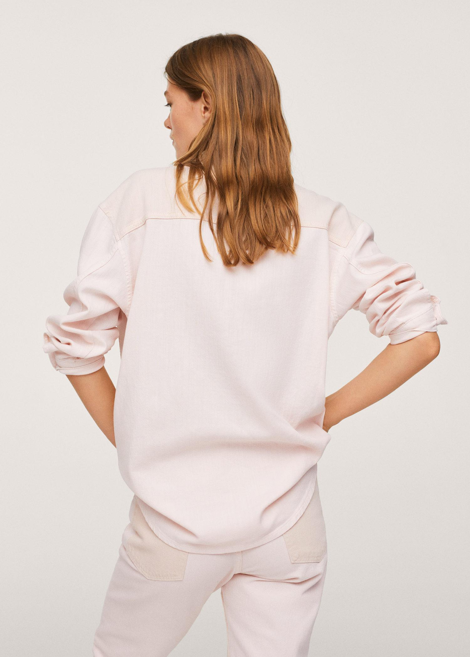 Contrasted pocketed shirt 2