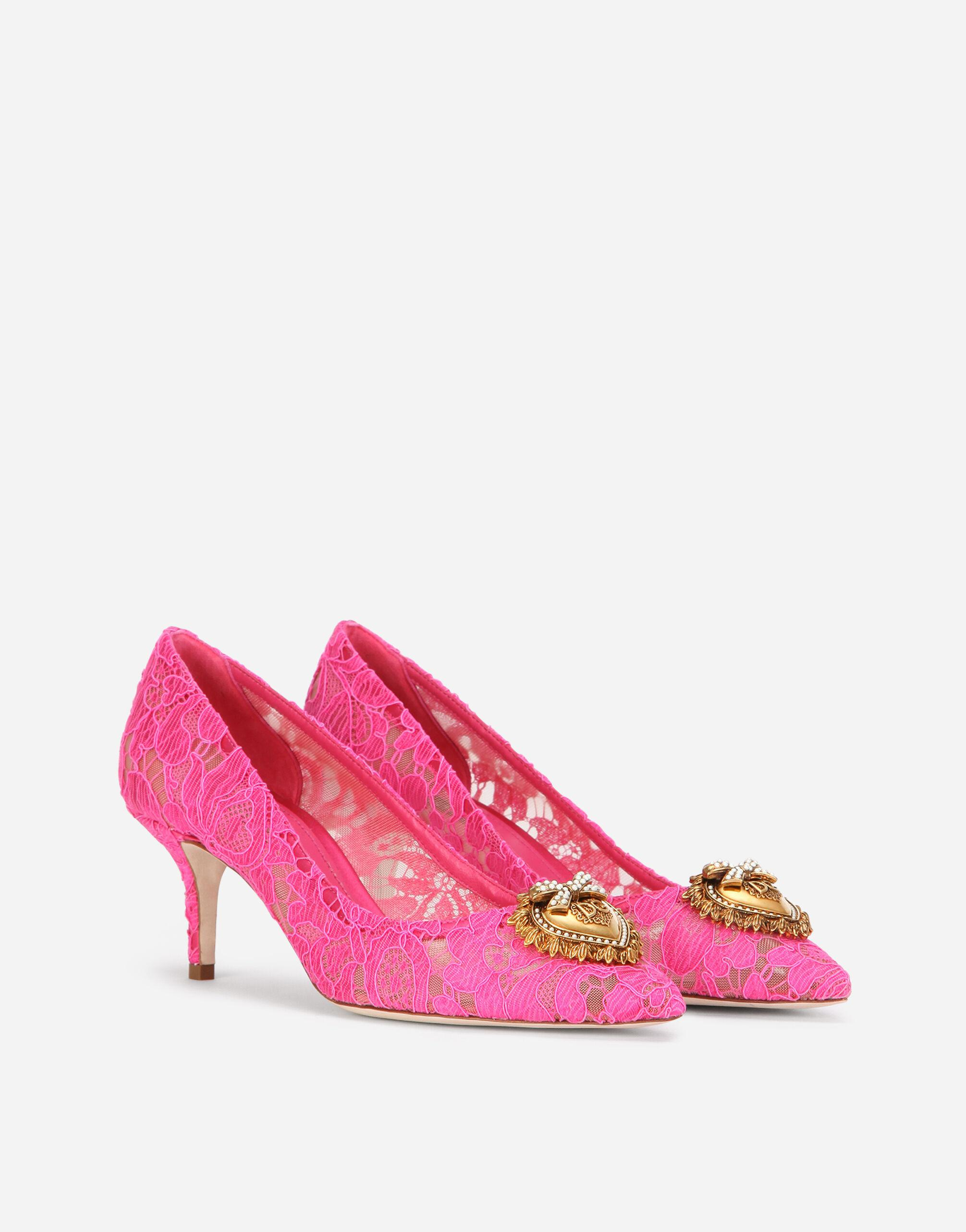Taormina lace pumps with Devotion heart 1