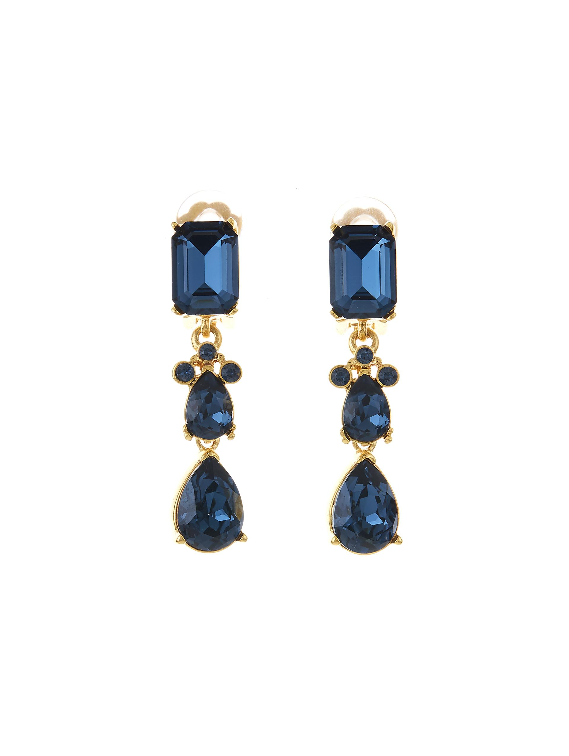CLASSIC CRYSTAL SMALL DROP EARRING 0