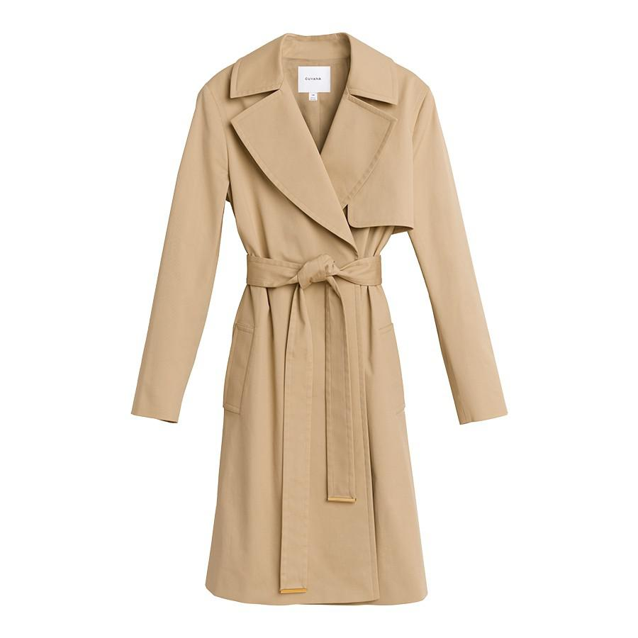 Women's Classic Trench in Wheat | Size: 0