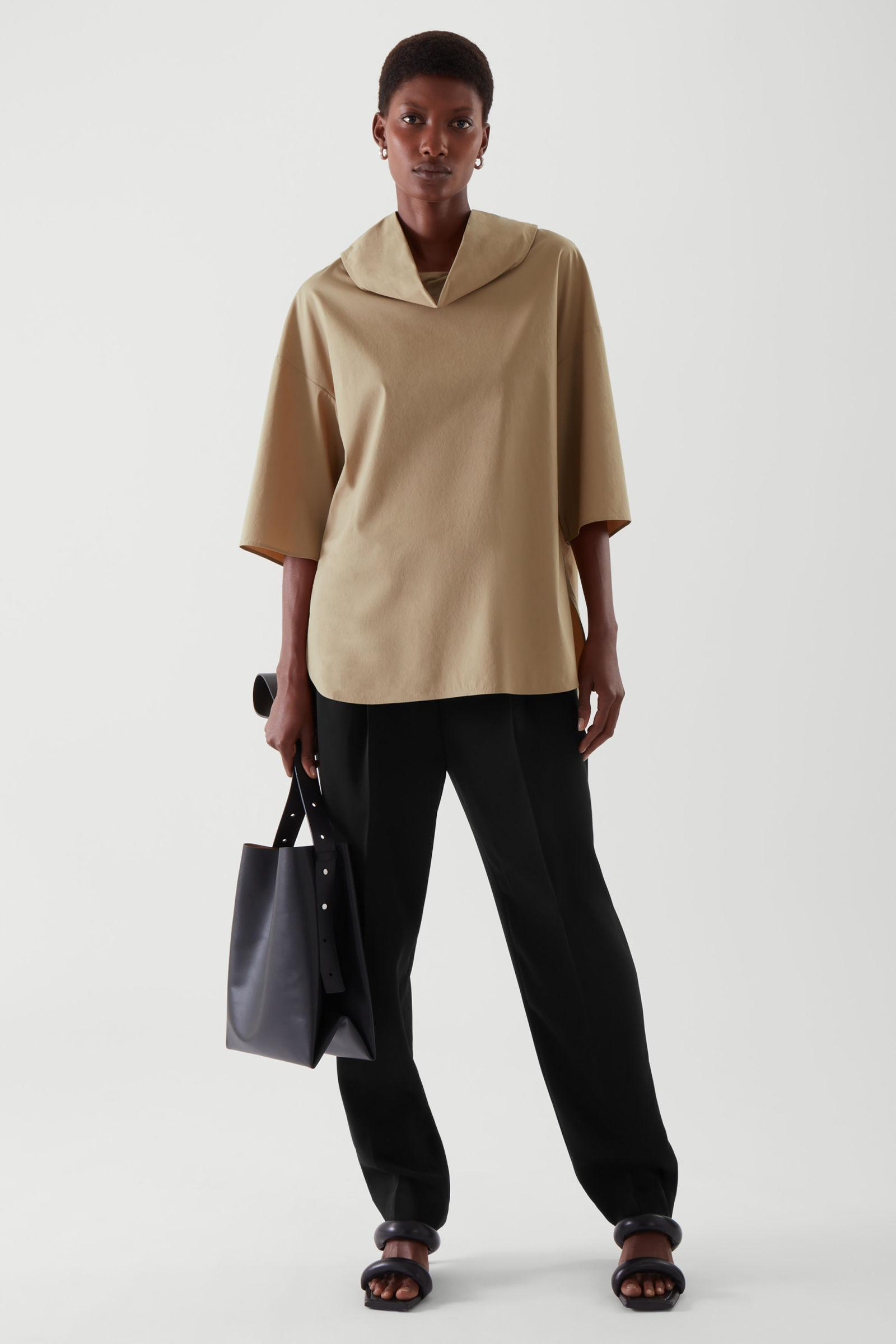 ROLL NECK TUNIC TOP