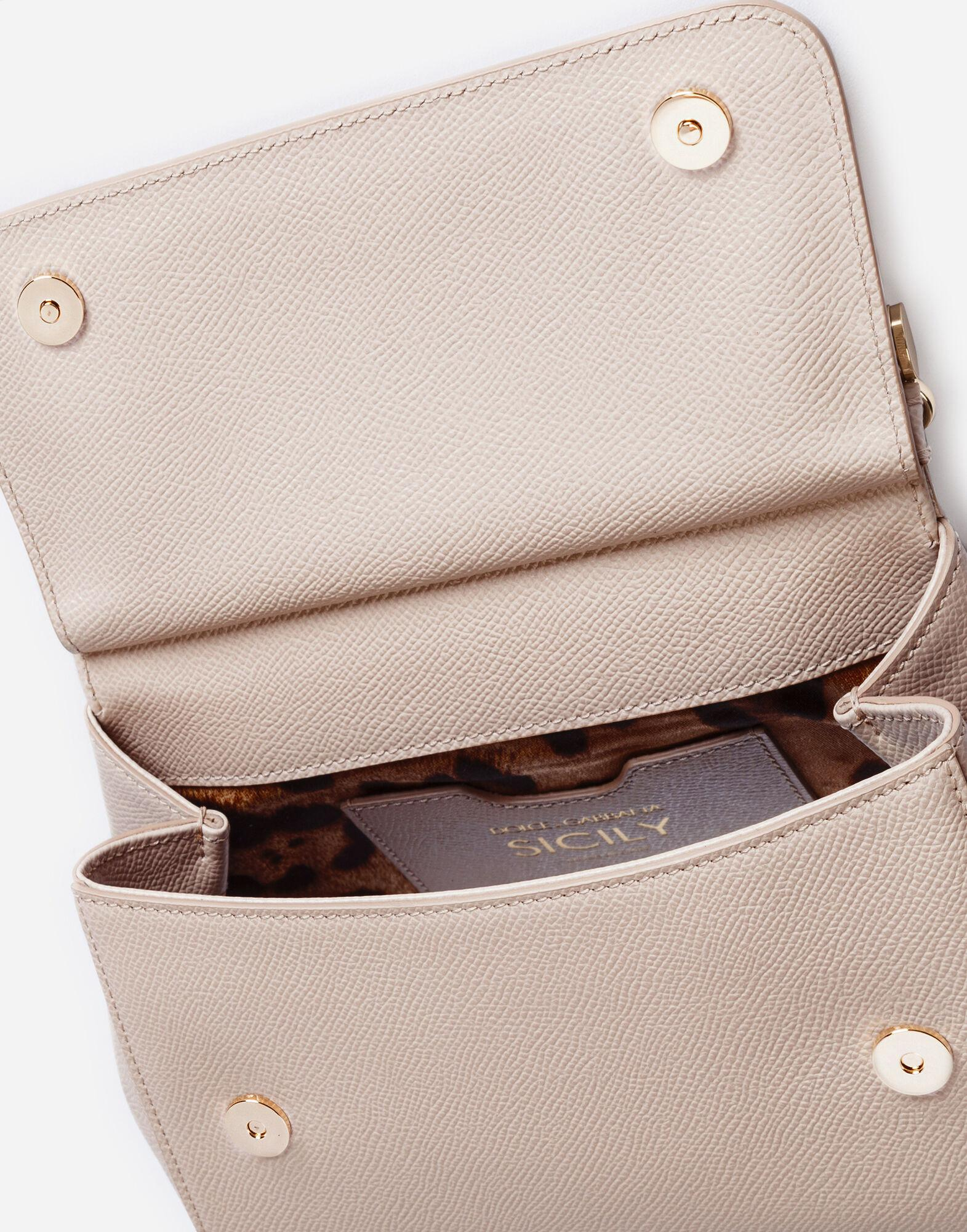 Small dauphine leather Sicily bag 3