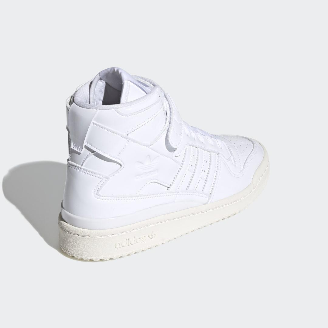Forum 84 High Shoes White 1