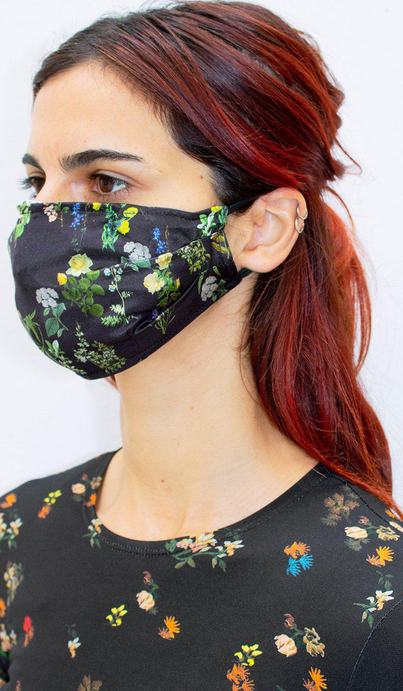 HERITAGE FLORAL FACE COVERING 1