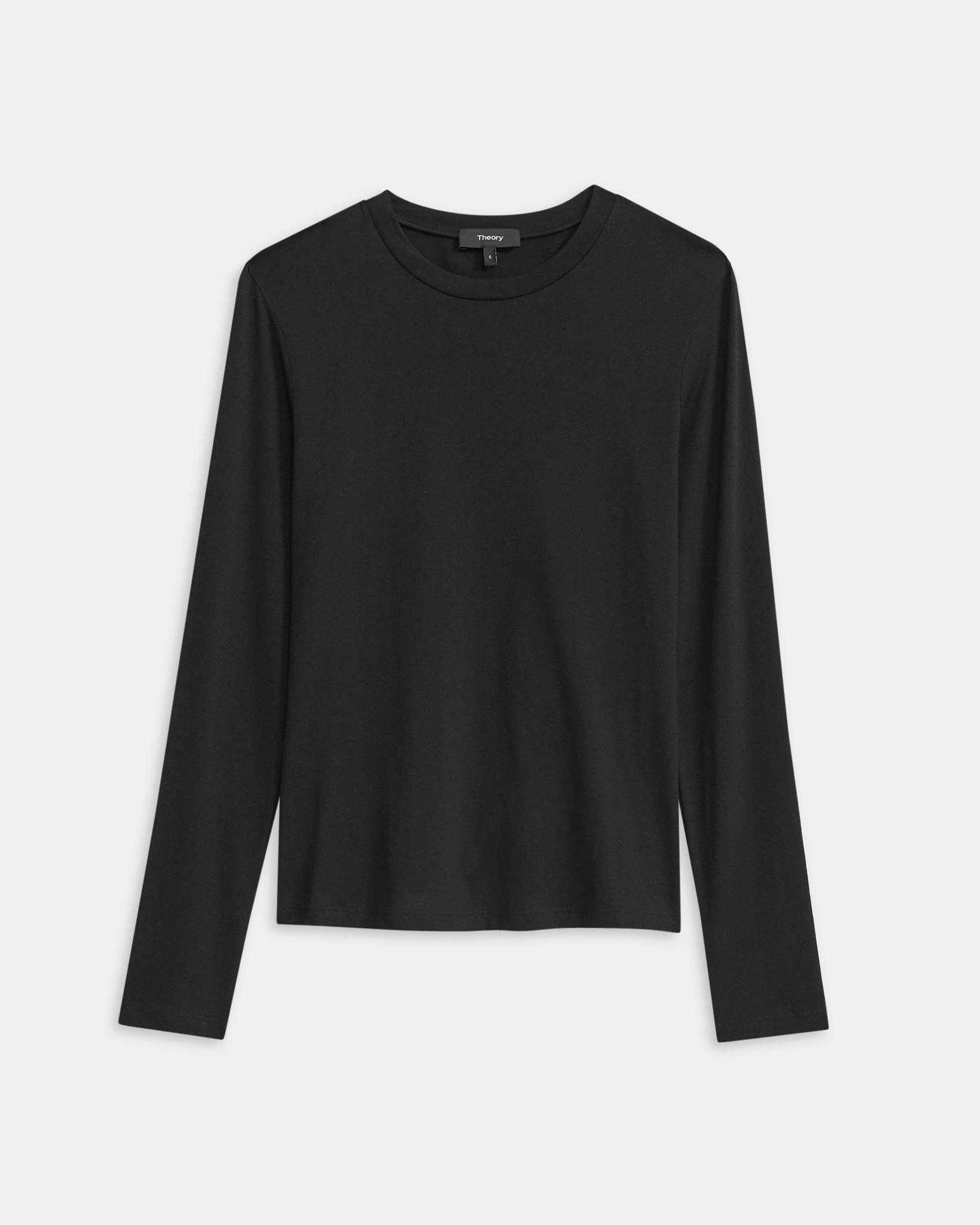 Long-Sleeve Tiny Tee in Cotton 5