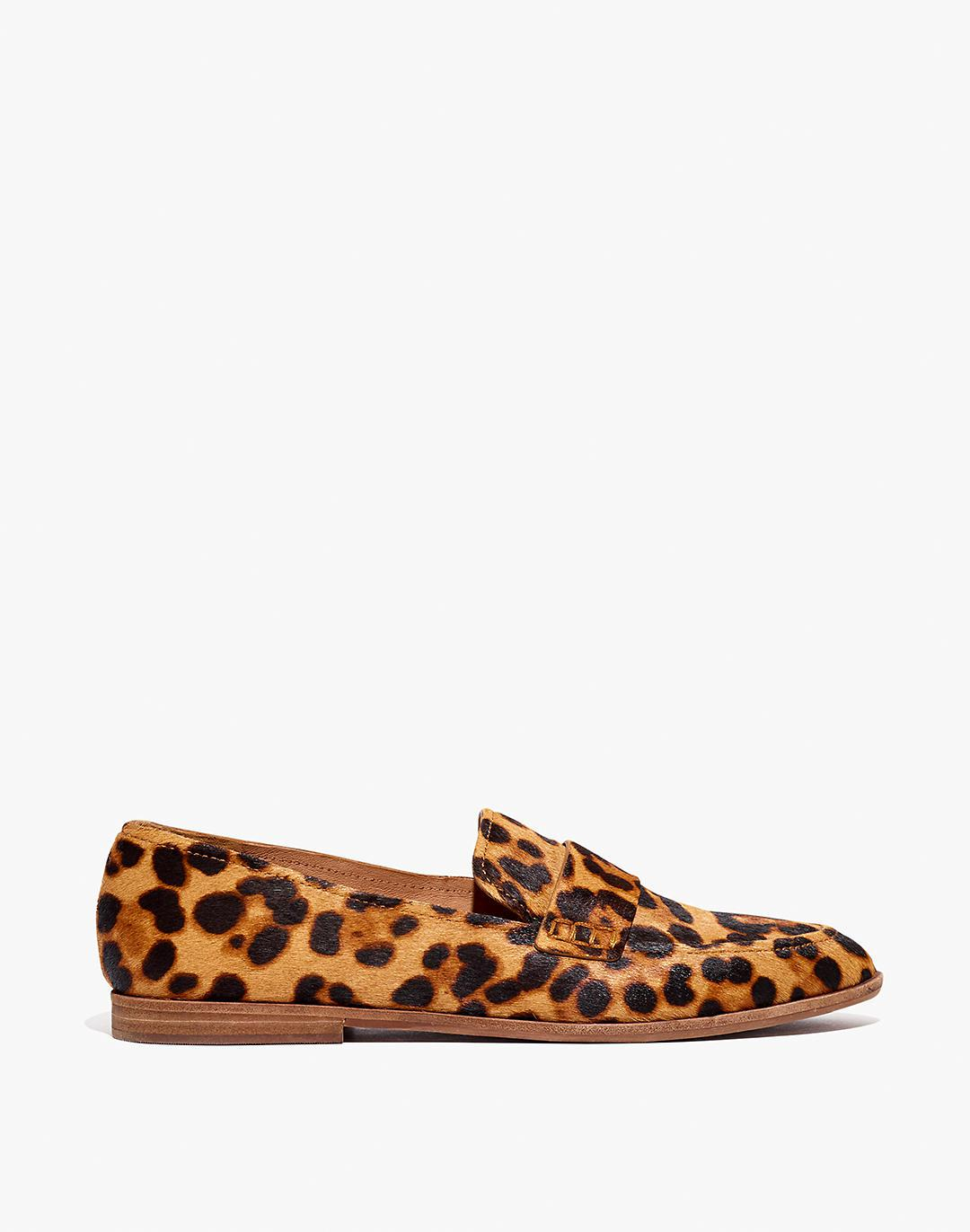 The Alex Loafer in Leopard Calf Hair 1