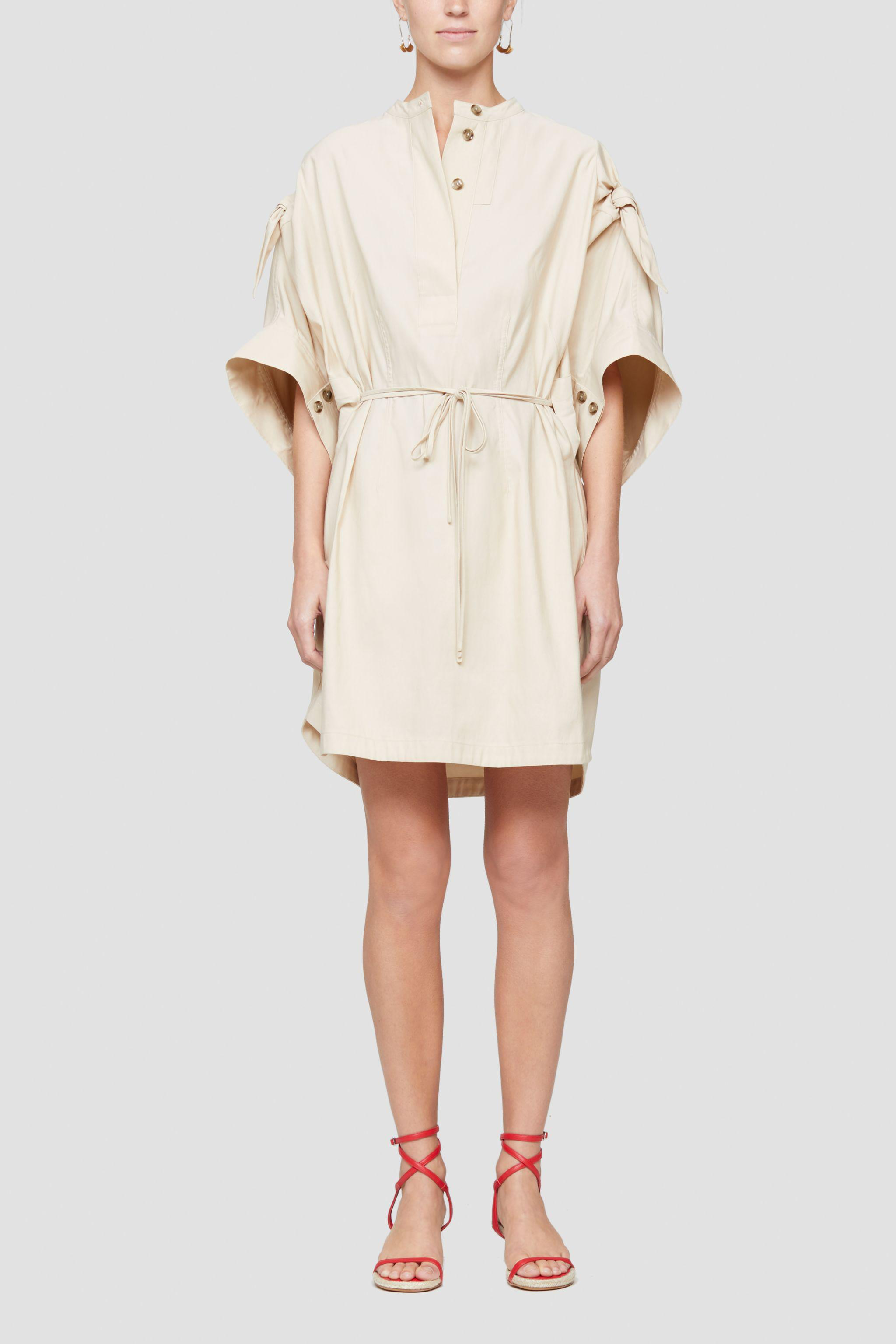 Knotted Sleeve Dress 1