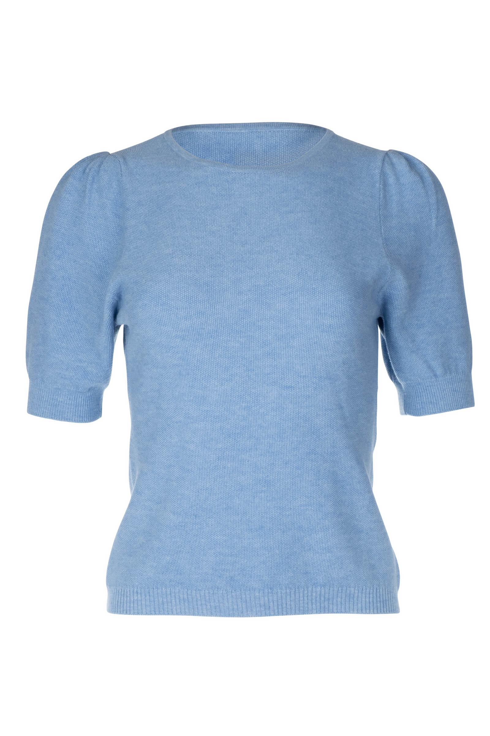 Ruched Sleeve Sweater 1