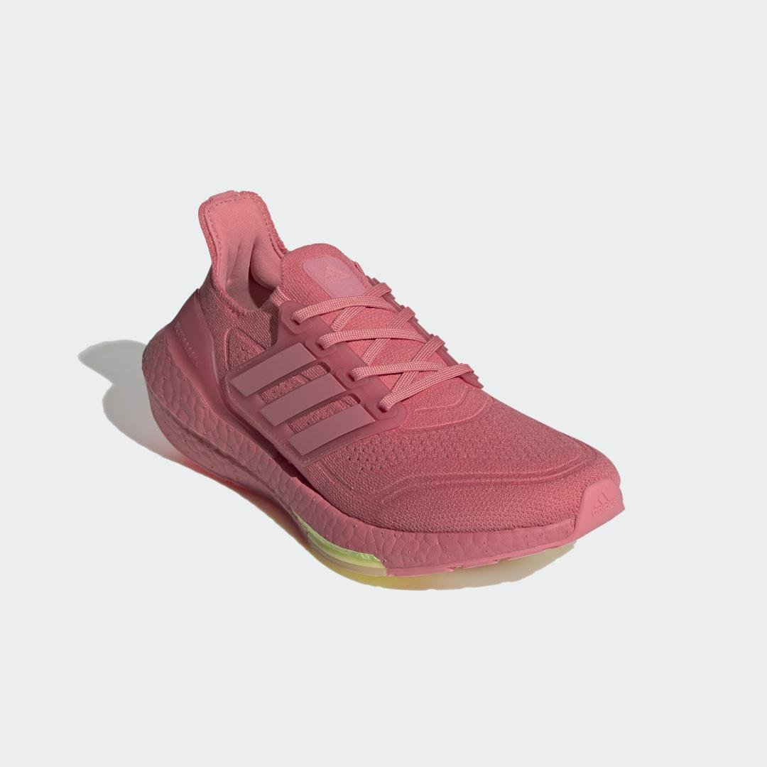 Ultraboost 21 Shoes Hazy Rose 5.5 - Womens Running Shoes