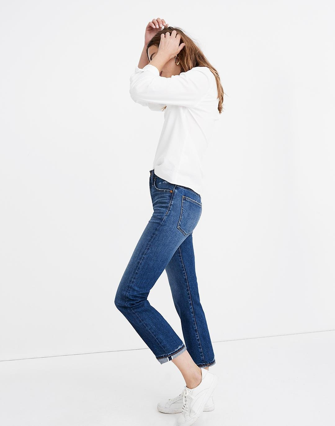 Tall Classic Straight Jeans: Selvedge Edition 1