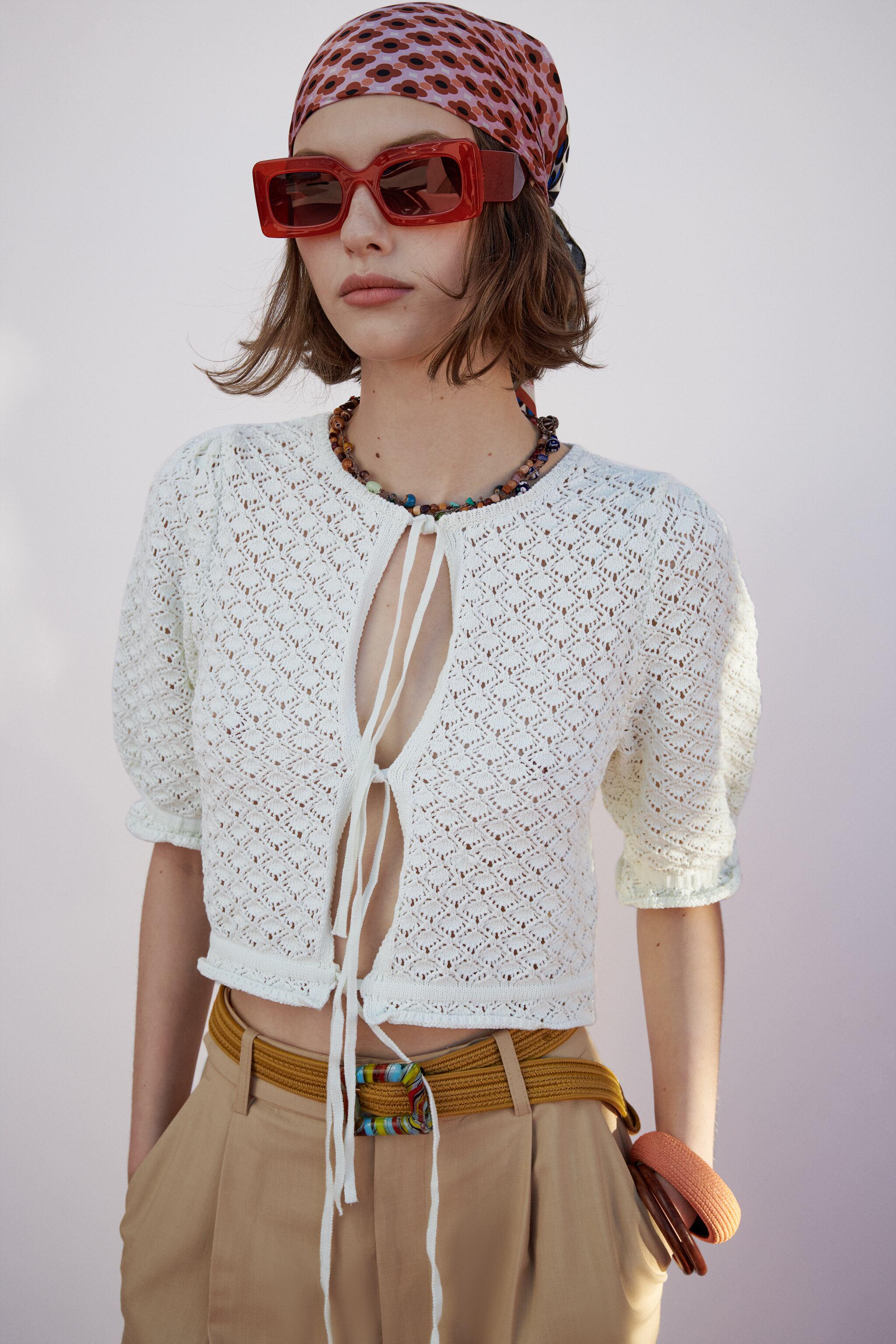 POINTELLE KNIT TOP 2