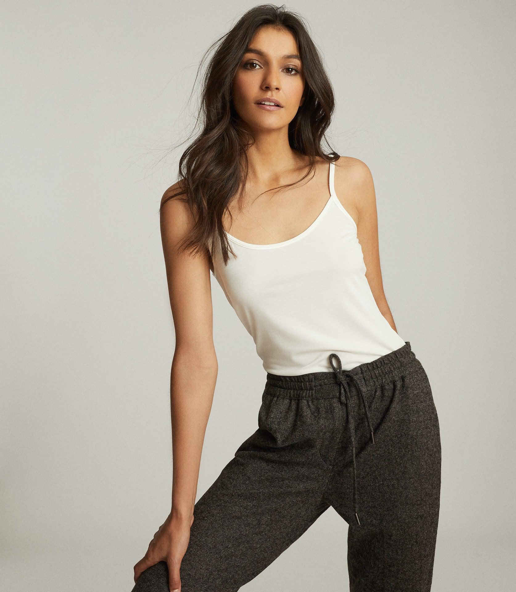 MILLY - JERSEY CAMI TOP 1