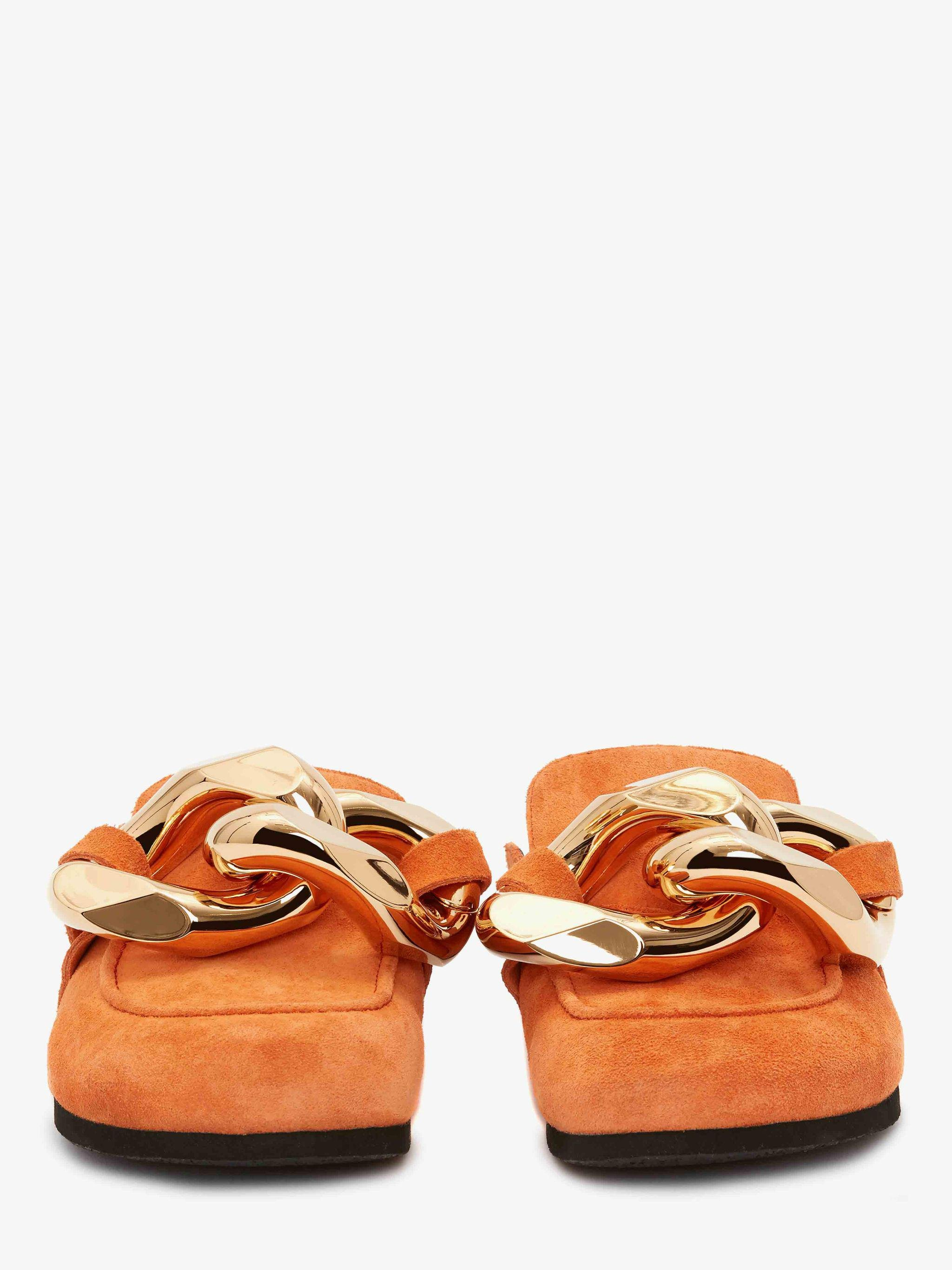 WOMEN'S CHAIN LOAFER - SUEDE 2