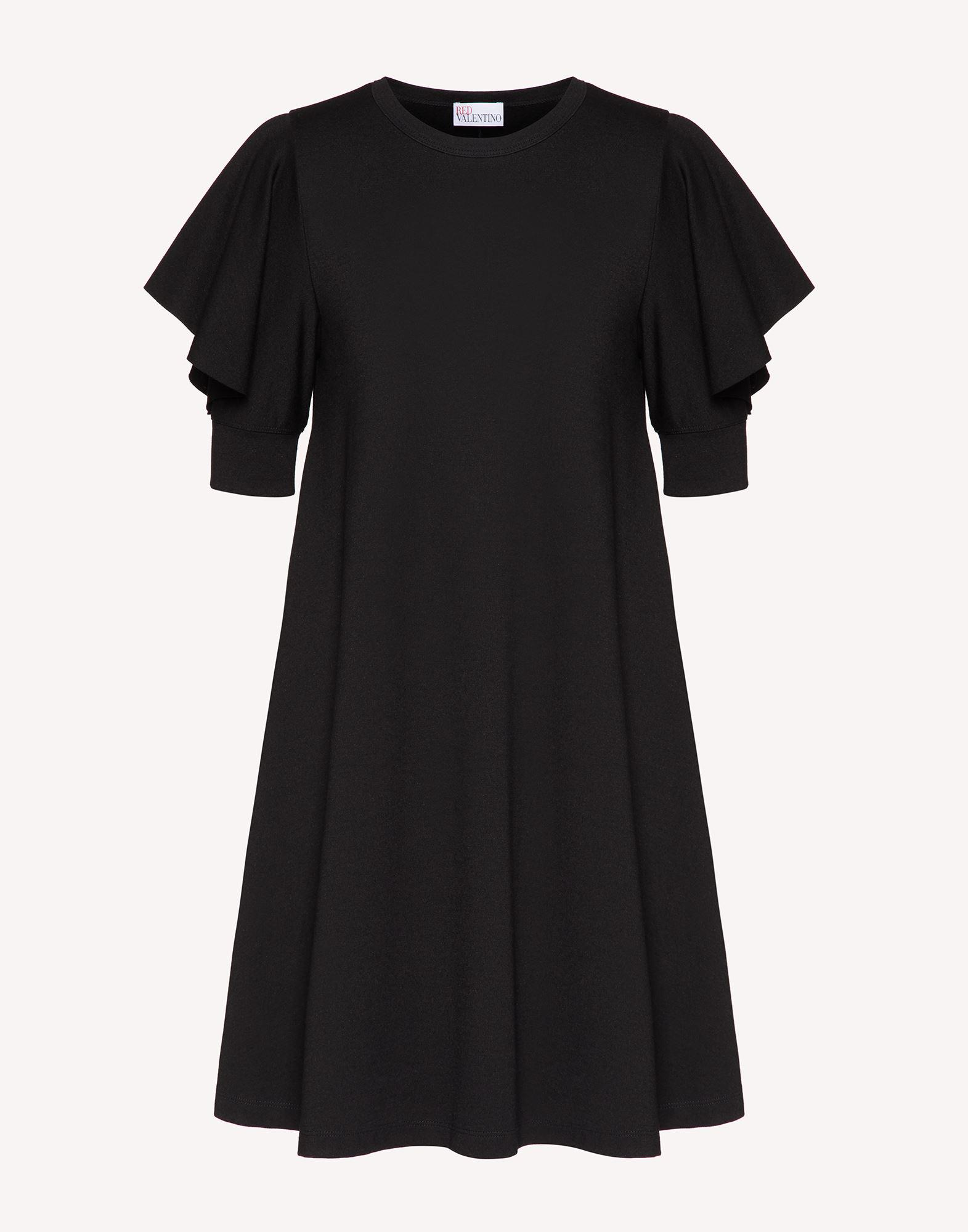 JERSEY DRESS WITH RUFFLE DETAIL 4