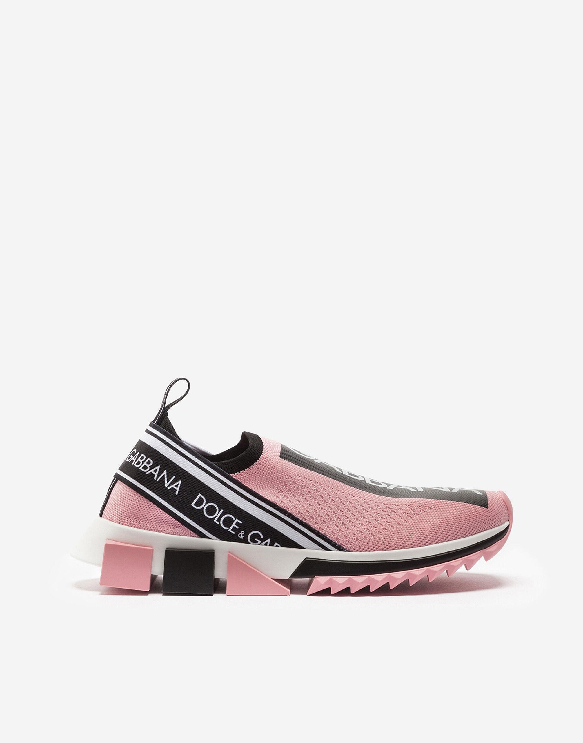 Stretch jersey Sorrento sneakers with logo